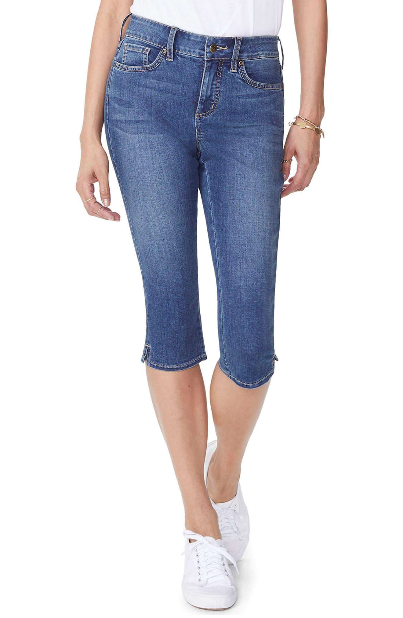Skinny Capri Jeans,                         Main,                         color, Zimbali