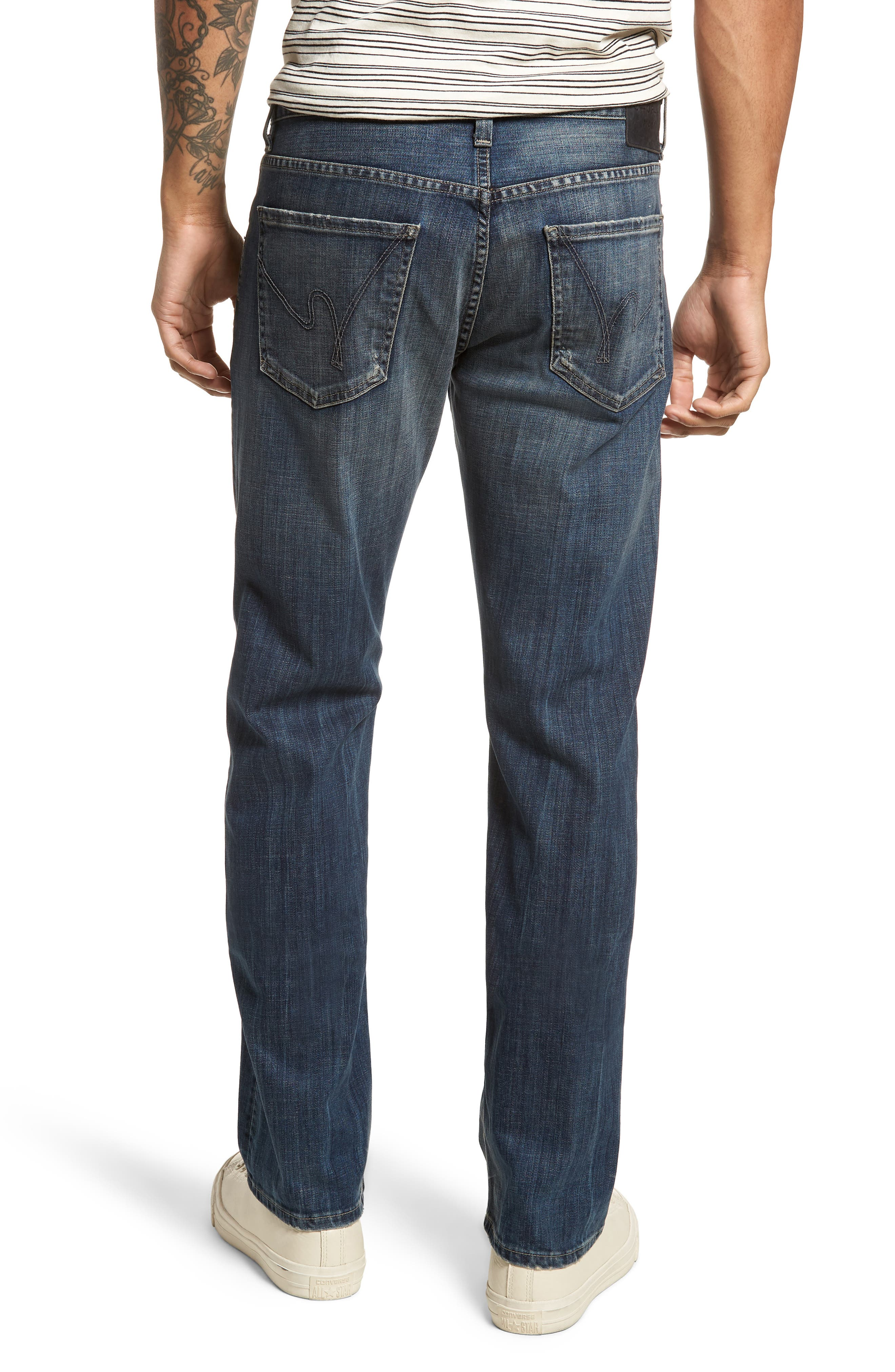 Sid Straight Leg Jeans,                             Alternate thumbnail 2, color,                             Reeves