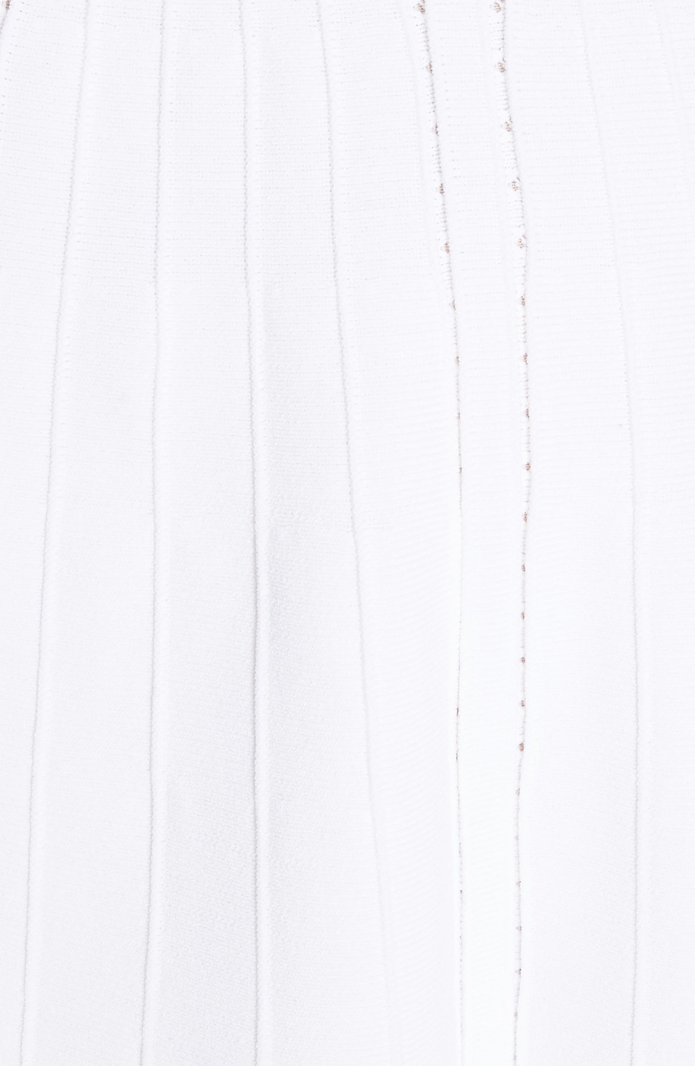 Janella Ruffled Off the Shoulder Dress,                             Alternate thumbnail 5, color,                             Optic White