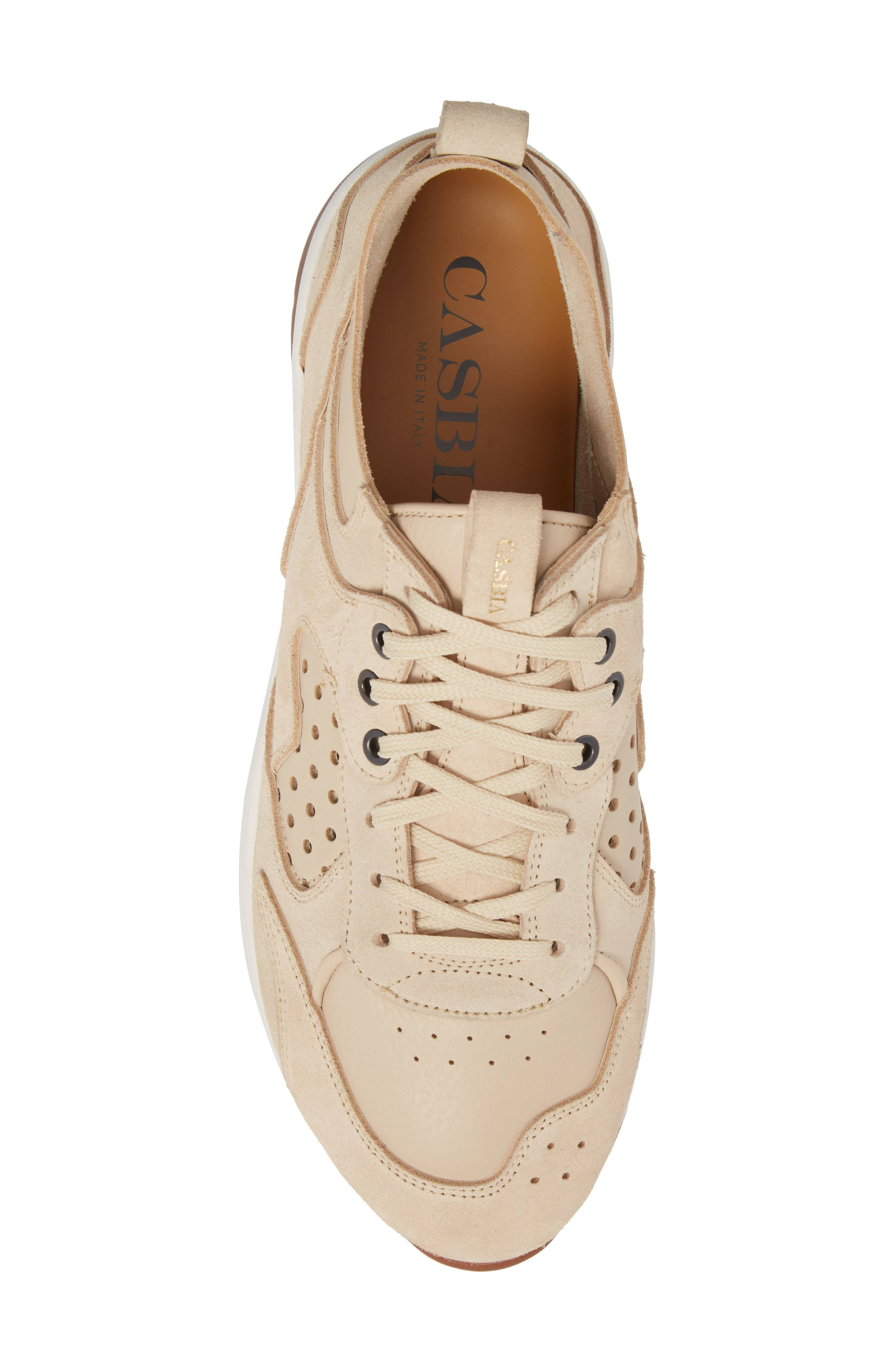 Champion Veloce Sneaker,                             Alternate thumbnail 5, color,                             Beige Suede