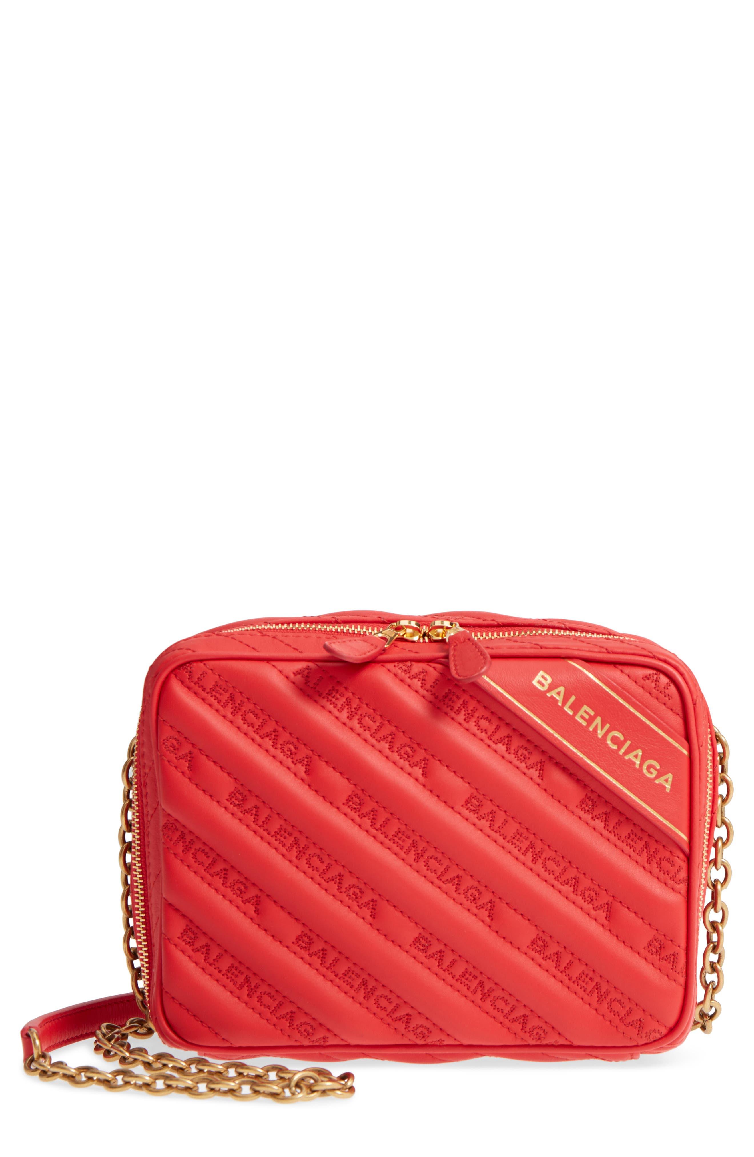 Balenciaga Extra Small Blanket Reporter Crossbody Bag