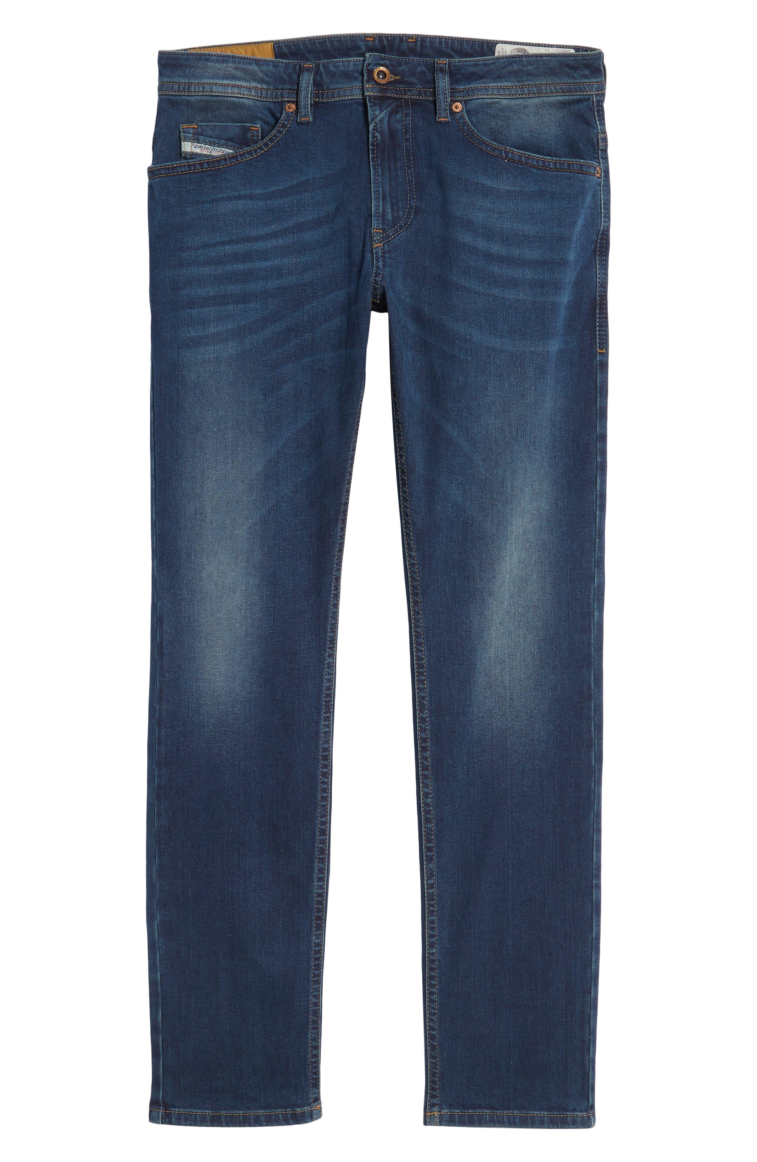 Thommer Skinny Fit Jeans,                             Alternate thumbnail 6, color,                             Blue