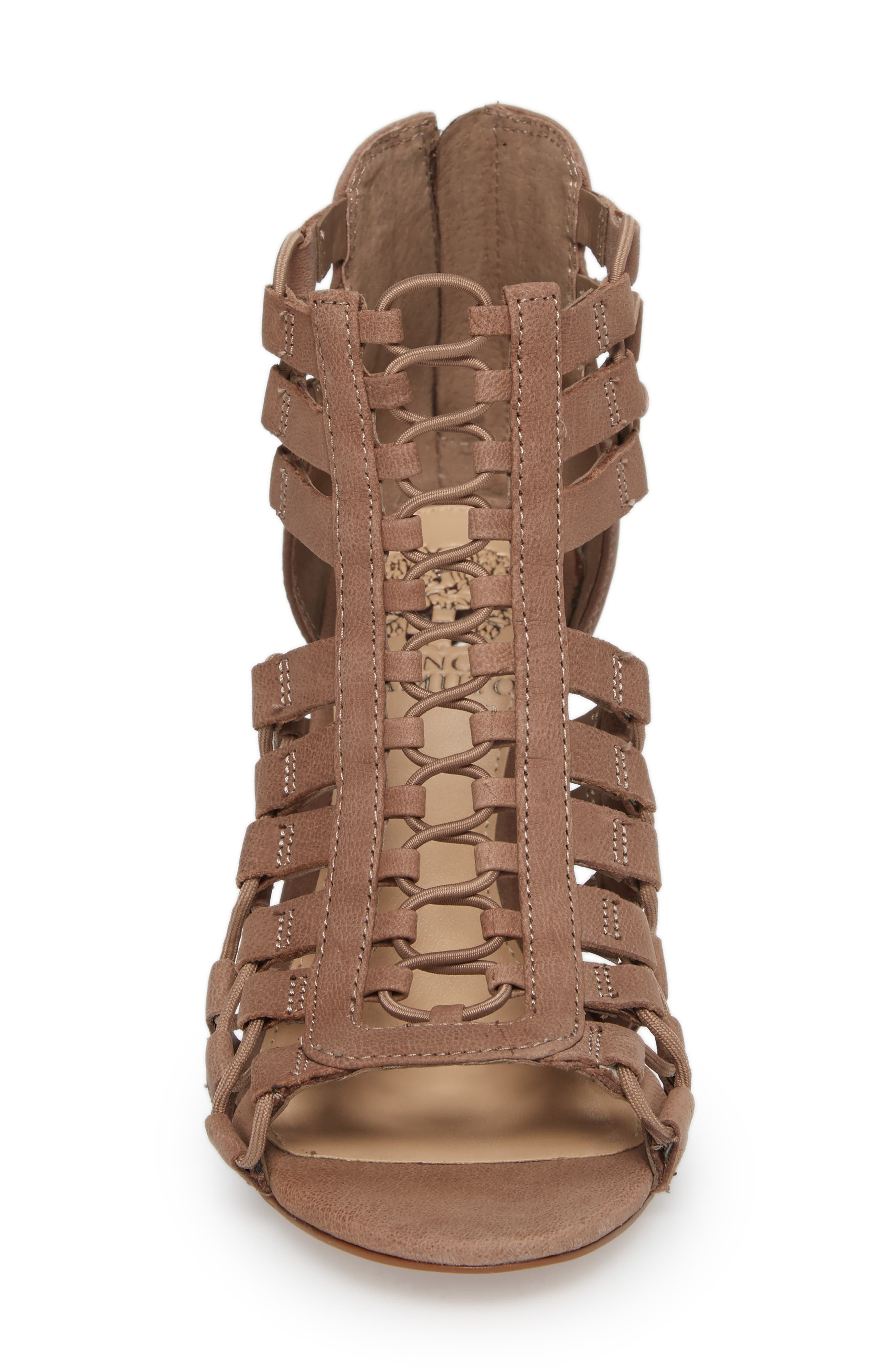 Elanso Sandal,                             Alternate thumbnail 4, color,                             Urban Lux Leather