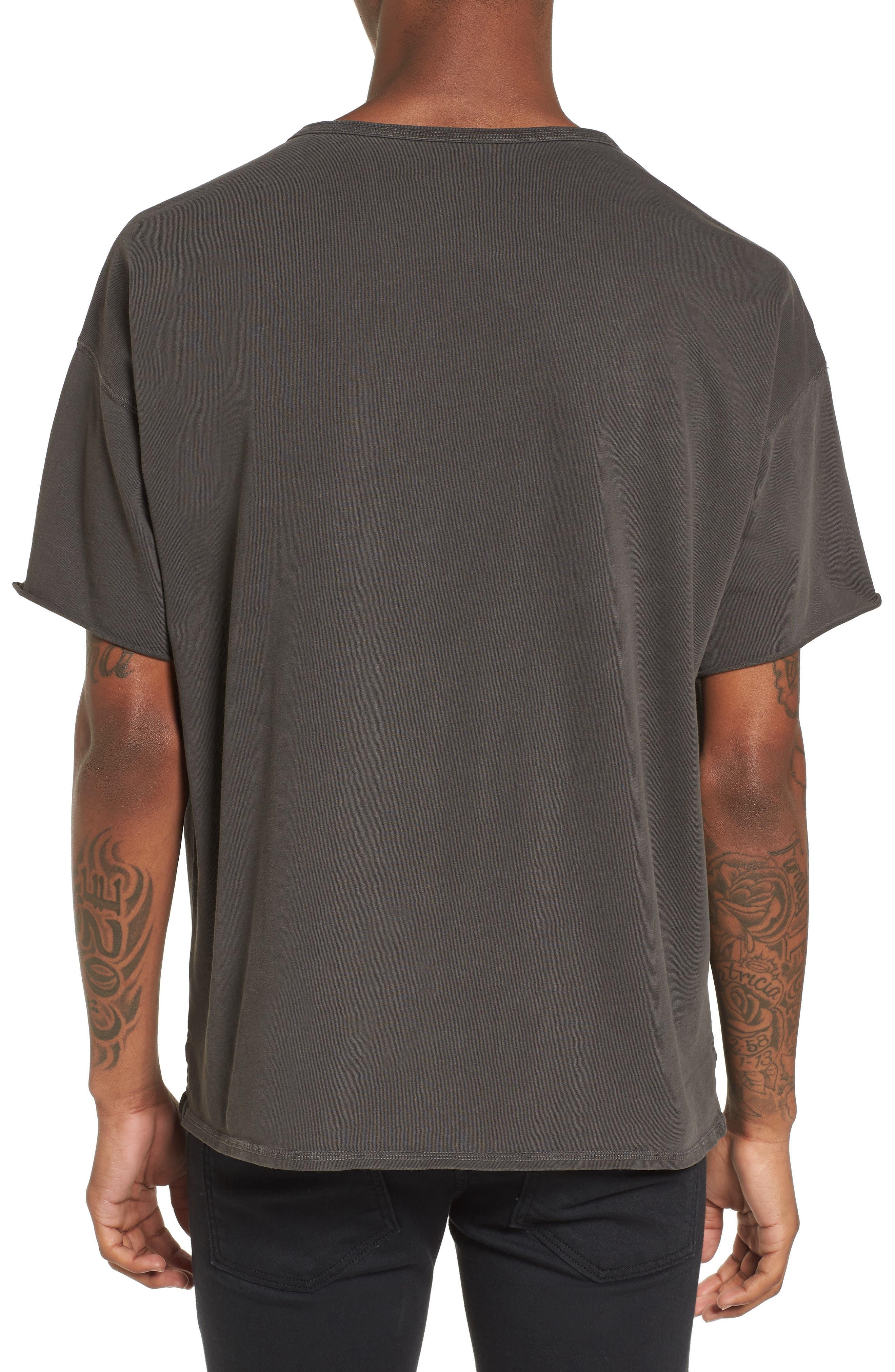 Slub T-Shirt,                             Alternate thumbnail 2, color,                             Grey Onyx