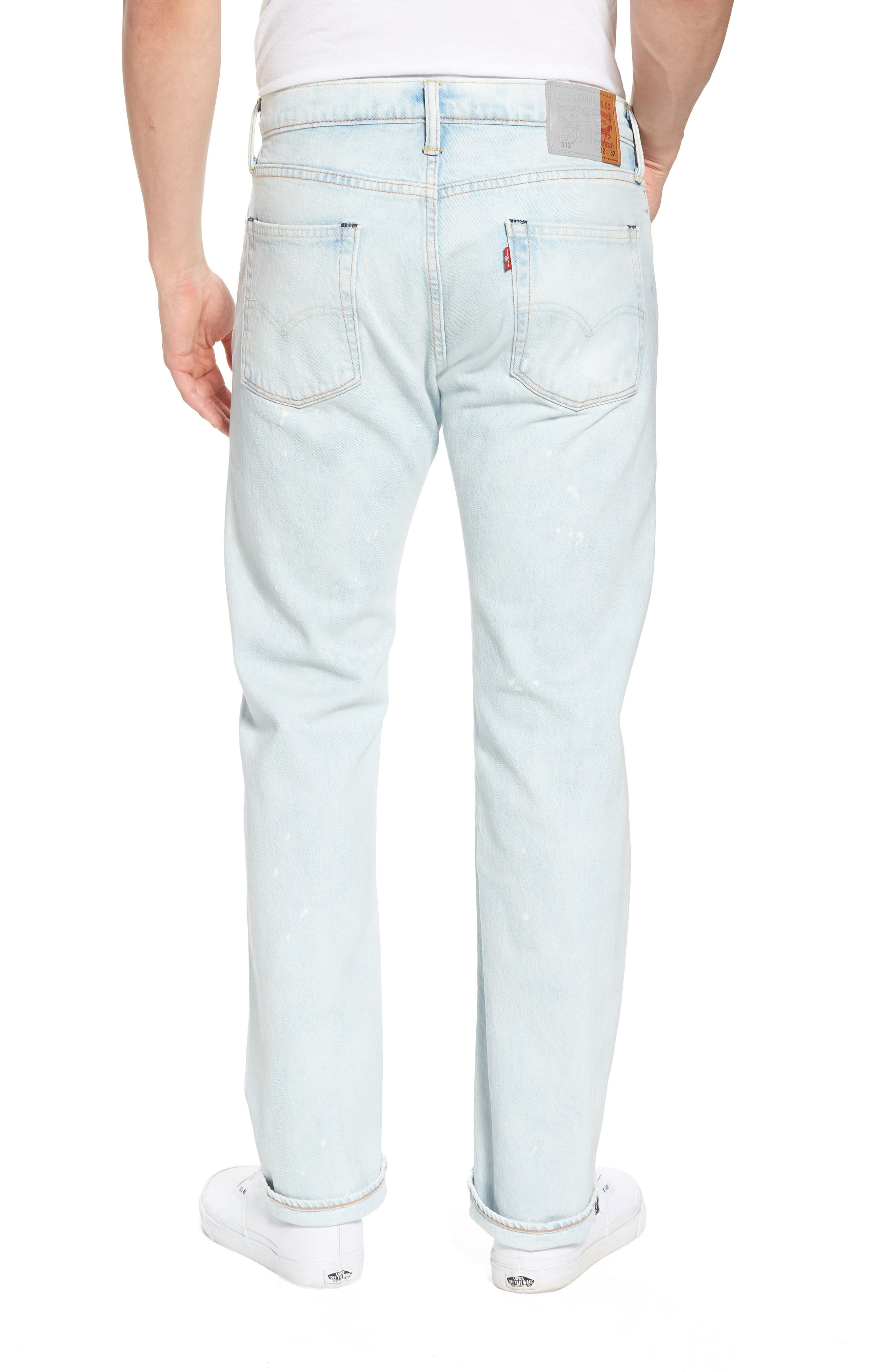 513<sup>™</sup> Slim Straight Leg Jeans,                             Alternate thumbnail 2, color,                             Soul Me