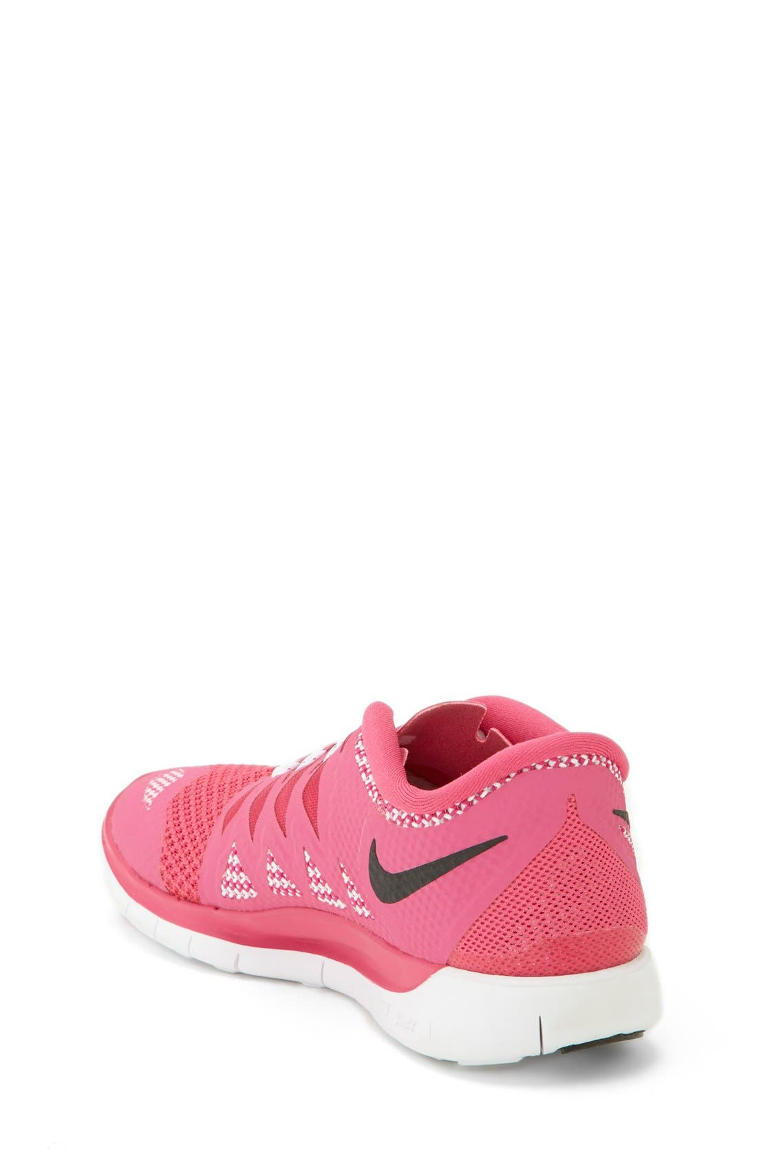 Alternate Image 2  - Nike 'Free 5.0' Running Shoe (Big Kid)