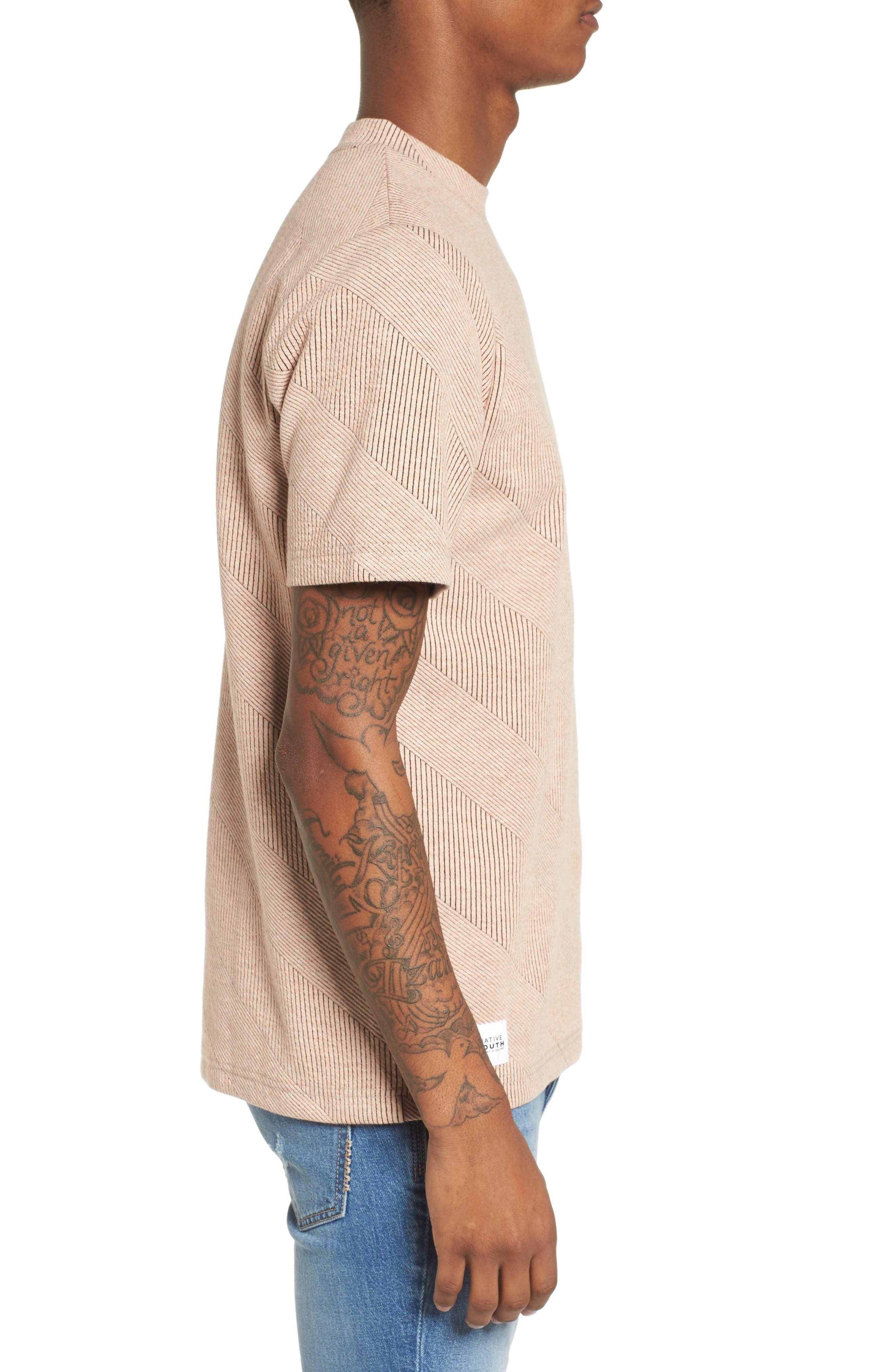 Biota T-Shirt,                             Alternate thumbnail 3, color,                             Coral