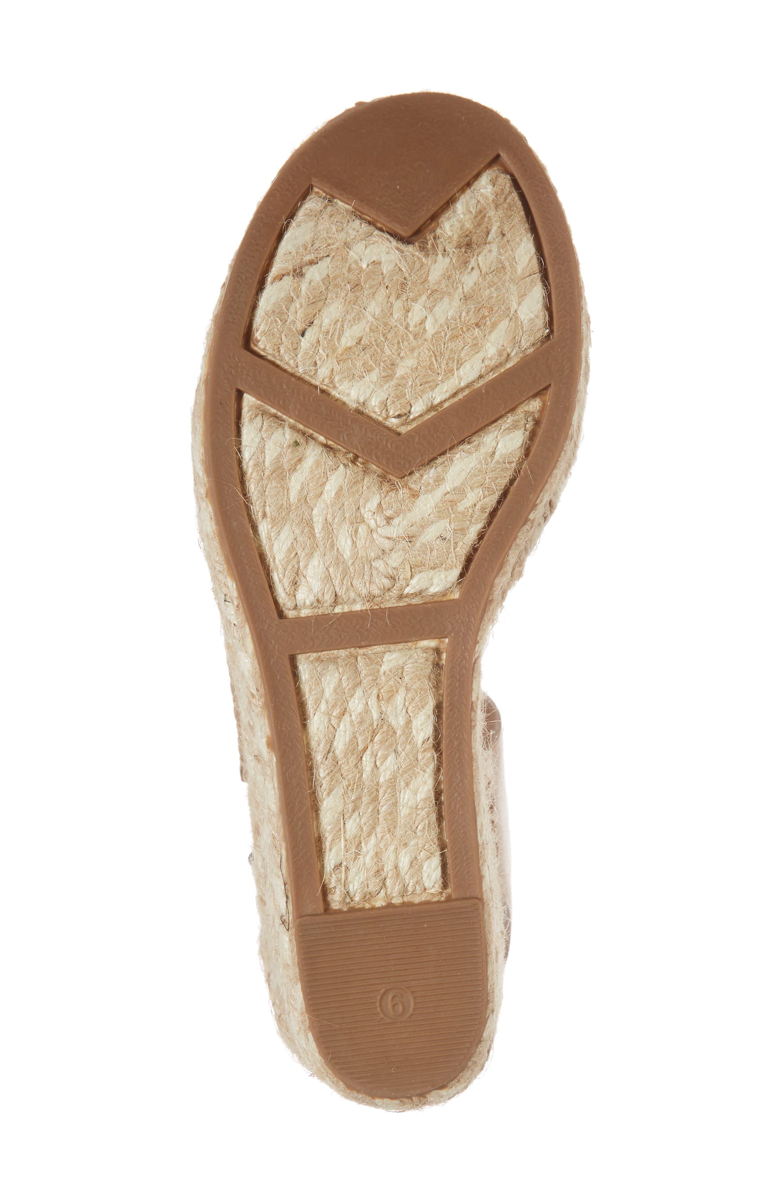 Alternate Image 6  - Sigerson Morrison Wedge Espadrille Sandal (Women)