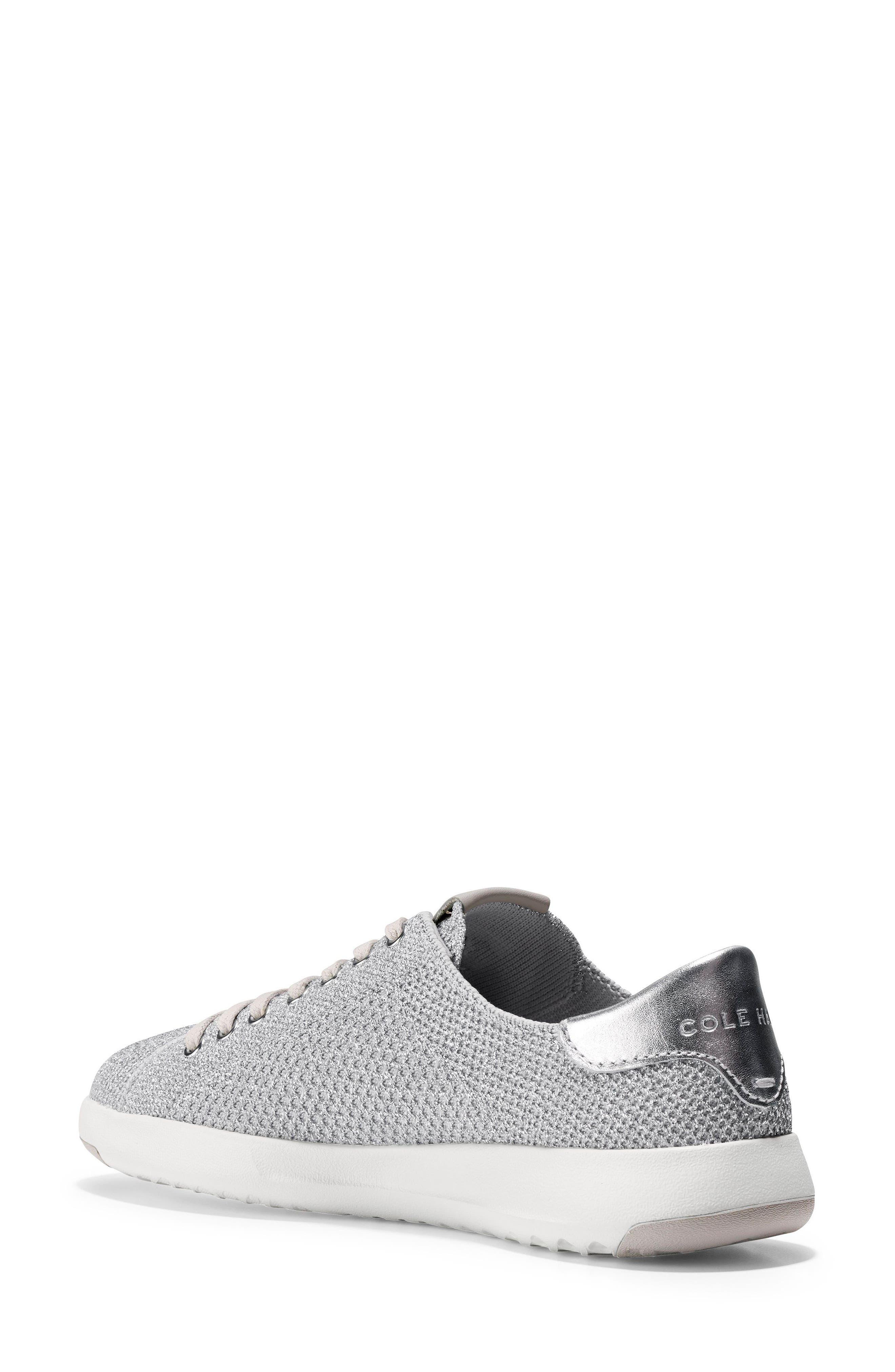 GrandPro Stitchlite Sneaker,                             Alternate thumbnail 2, color,                             Silver Fabric