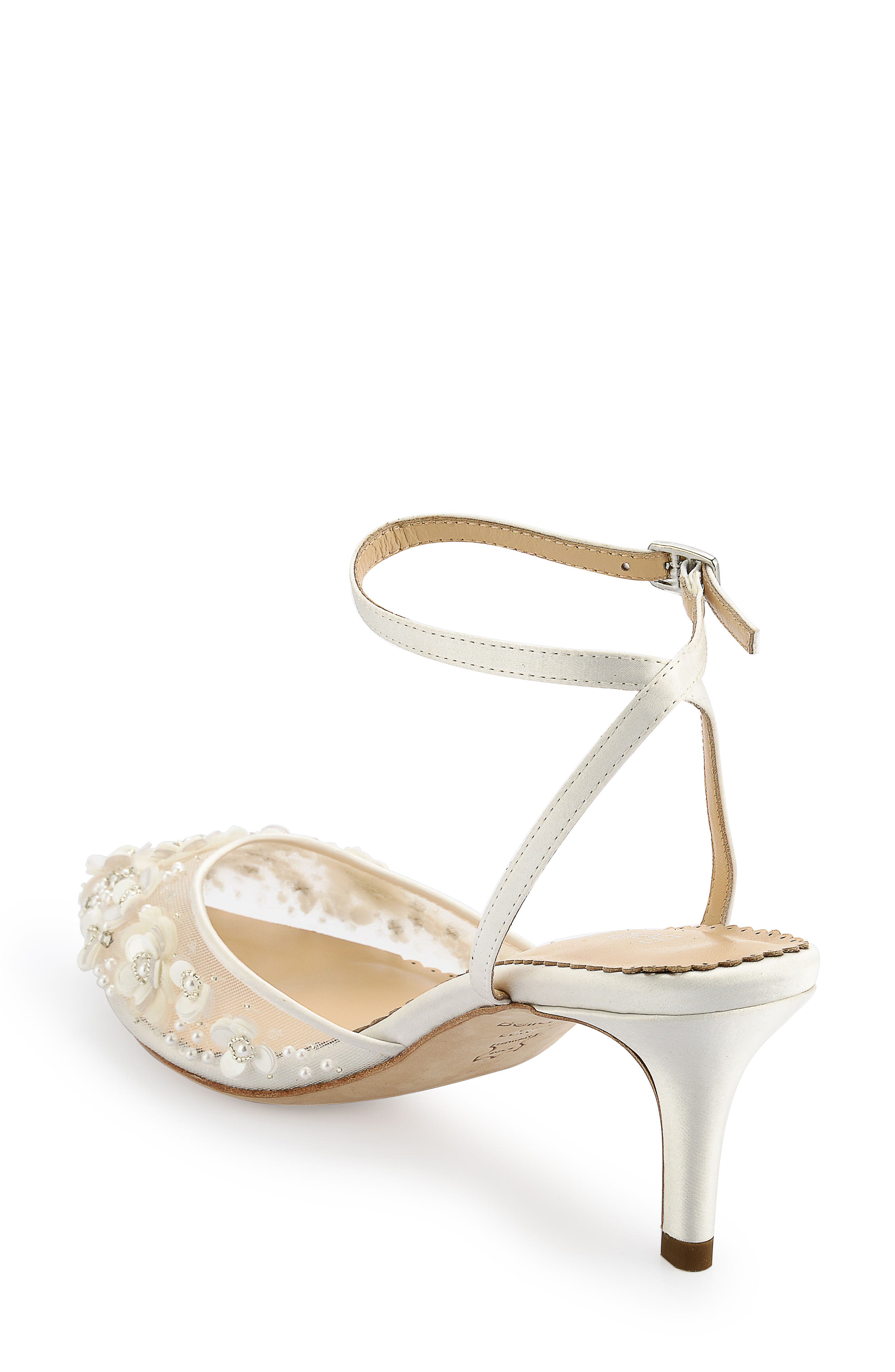 Rosa Pump,                             Alternate thumbnail 2, color,                             Ivory Silk