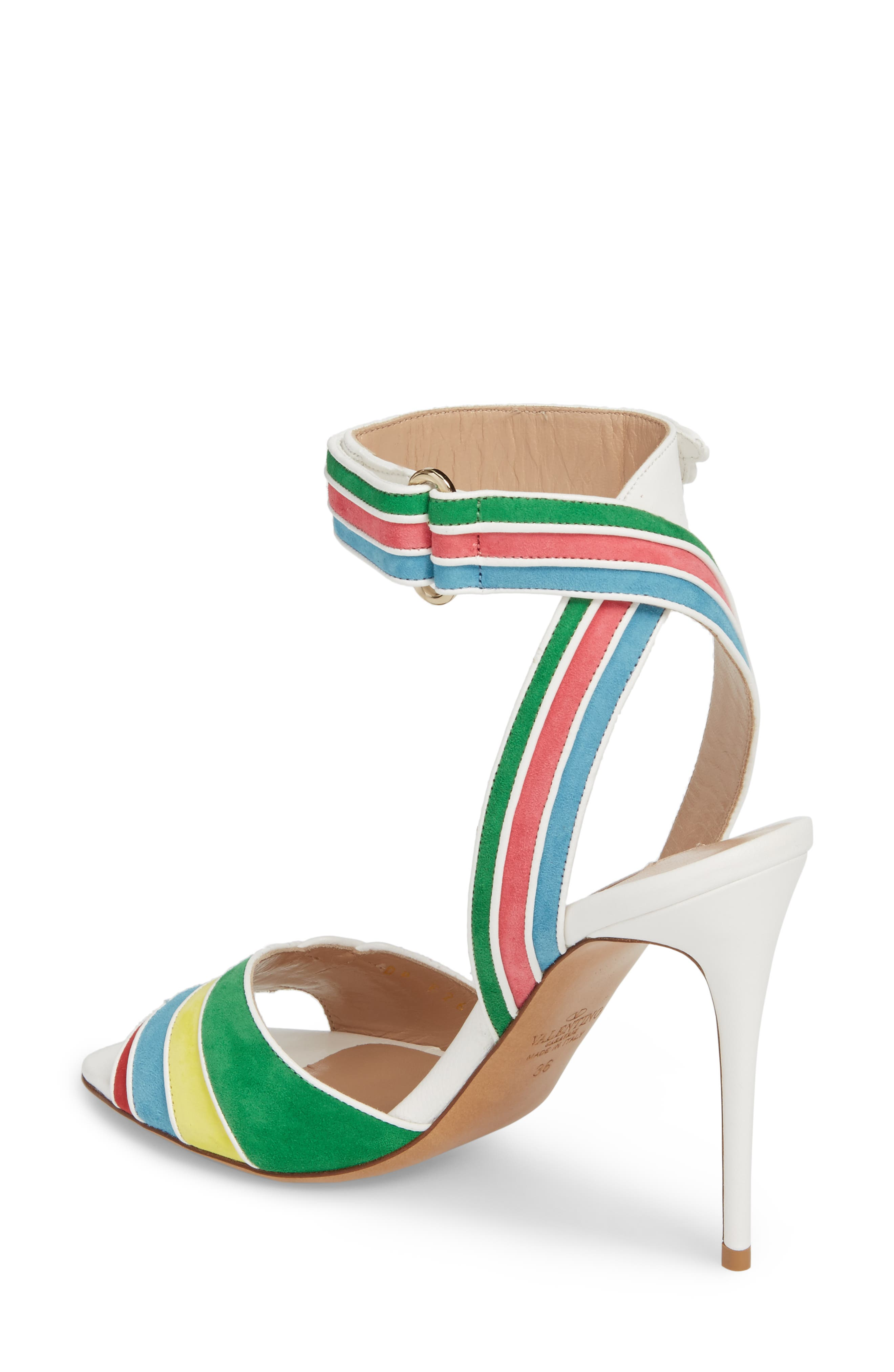 Alternate Image 2  - VALENTINO GARAVANI Rainbow Sandal (Women)