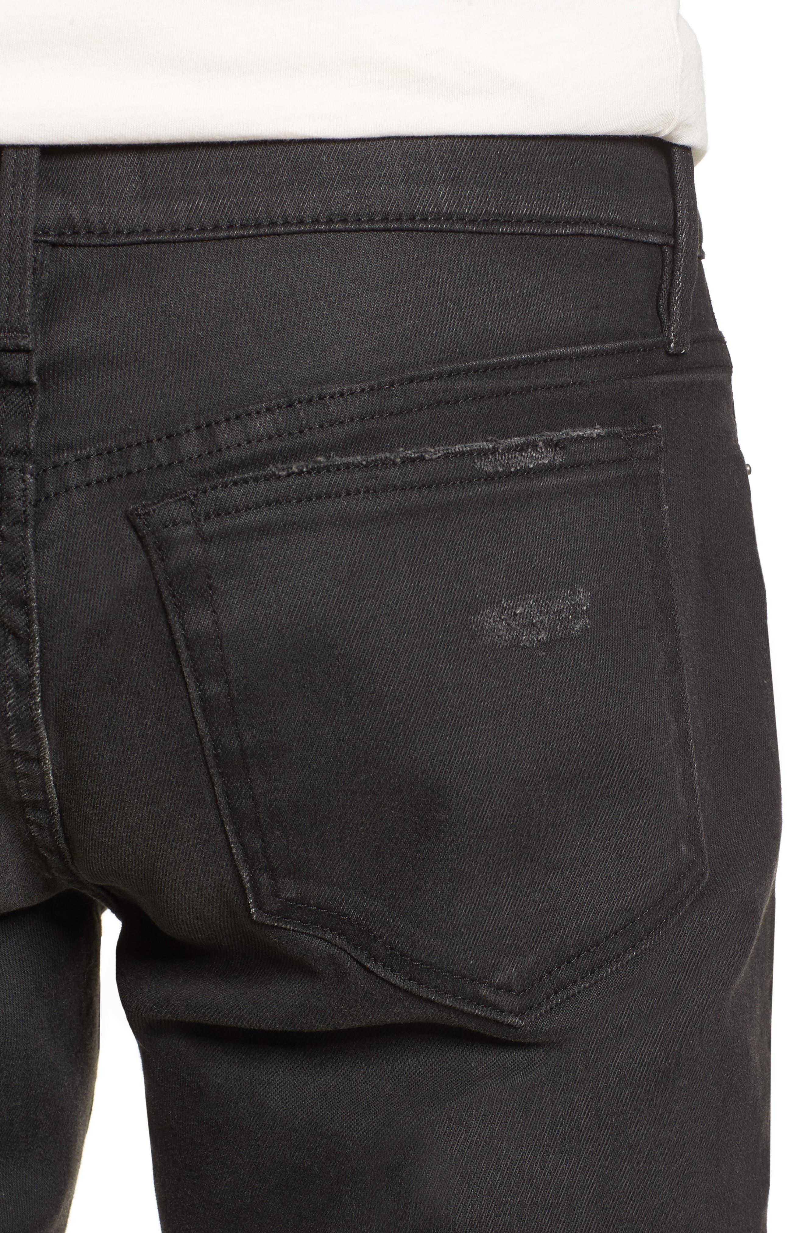 L'Homme Slim Fit Jeans,                             Alternate thumbnail 4, color,                             Flintwood