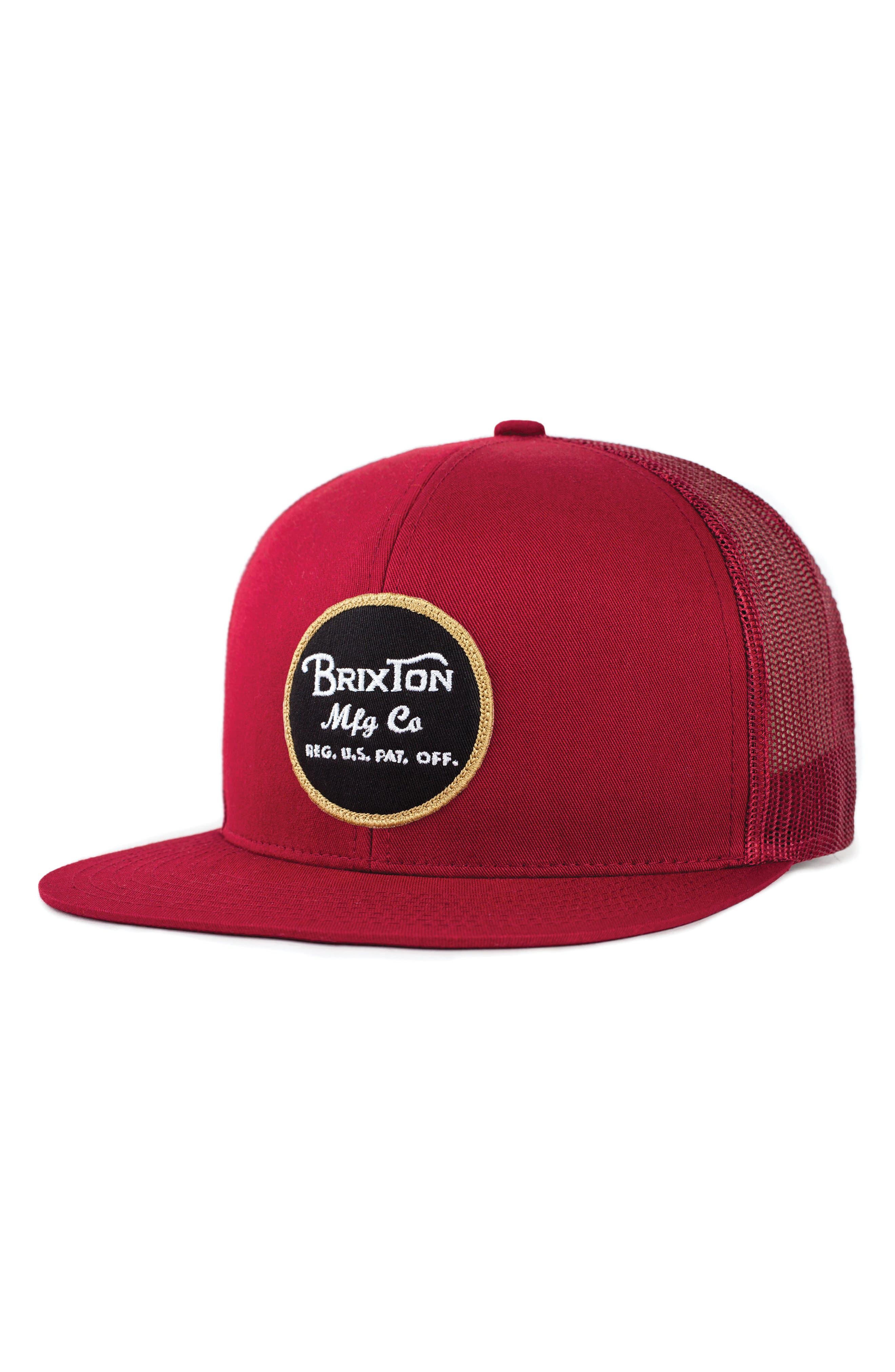 Brixton 'Brood' Snapback Cap