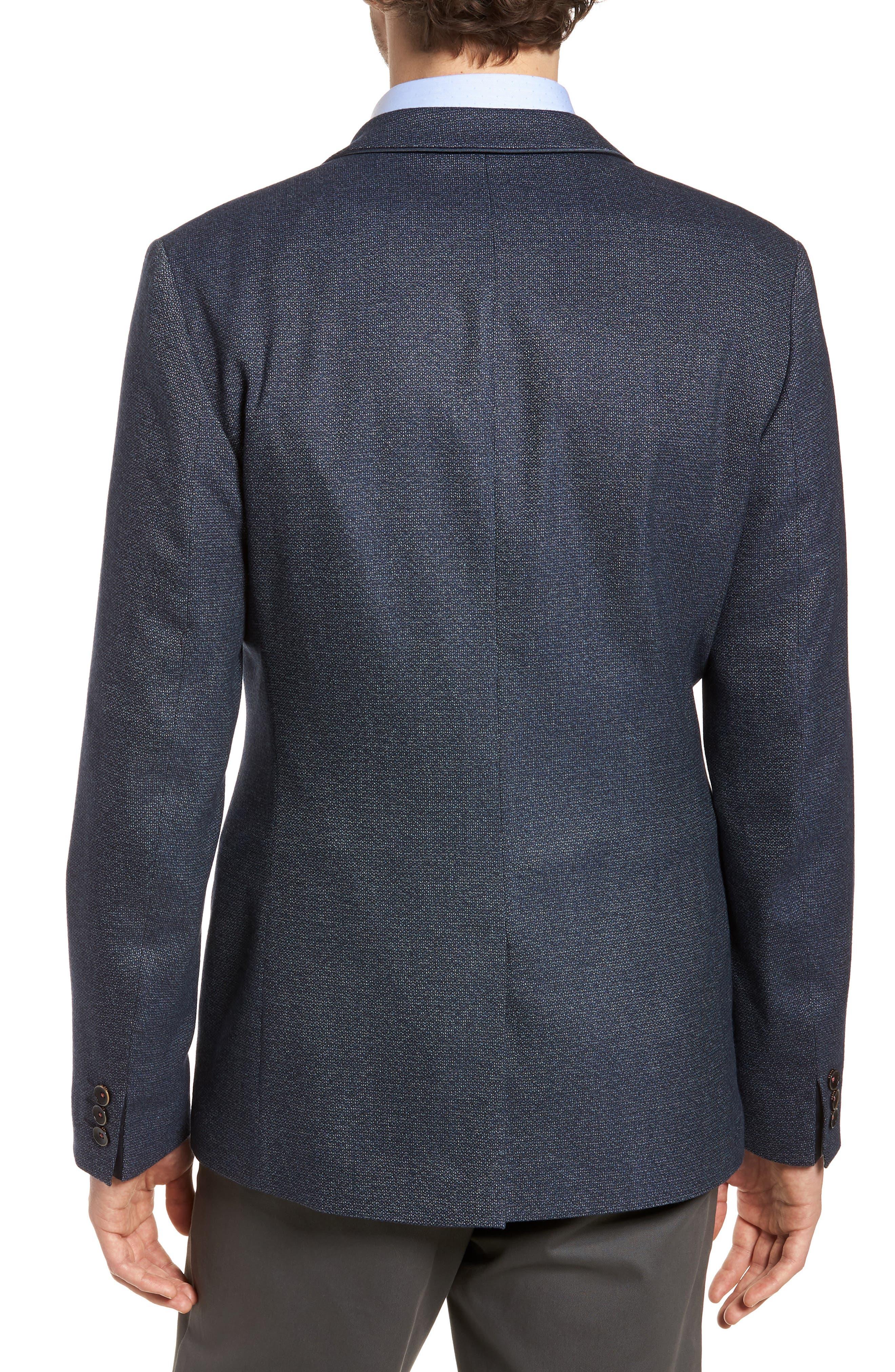 Alternate Image 2  - Ted Baker London Burke Semi Plain Trim Fit Jacket