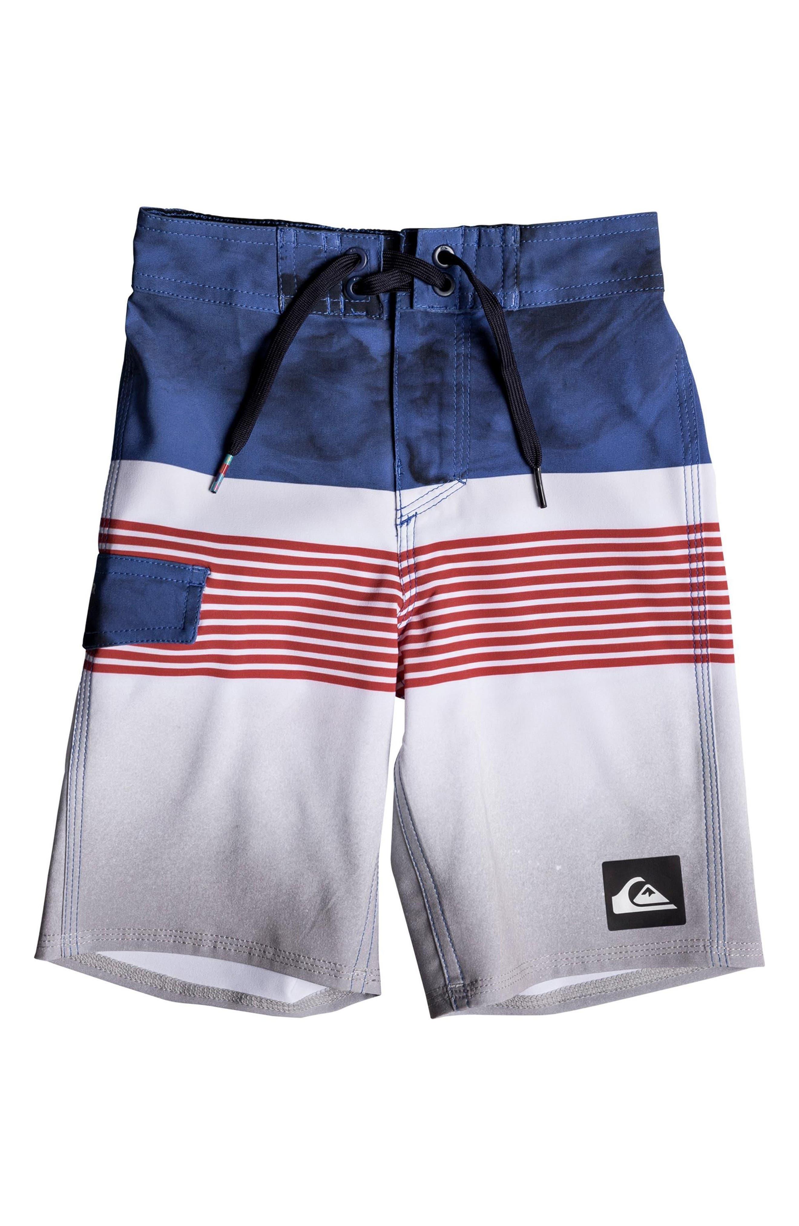 Highline Lava Board Shorts,                         Main,                         color, White