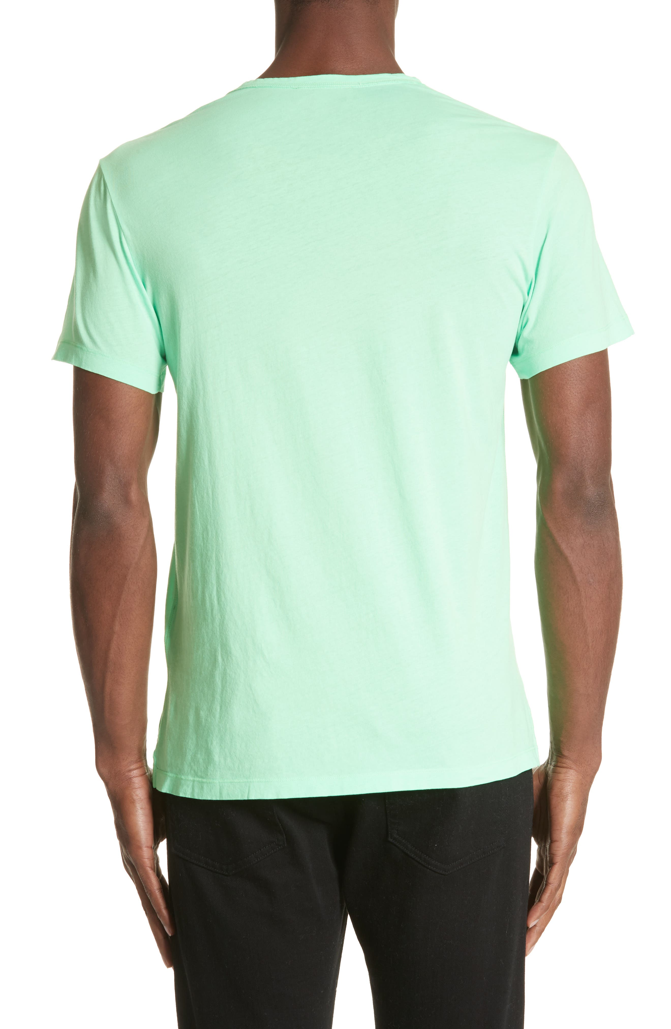 M Biles Standard Fit Graphic Tee,                             Alternate thumbnail 2, color,                             Bright Apple Green