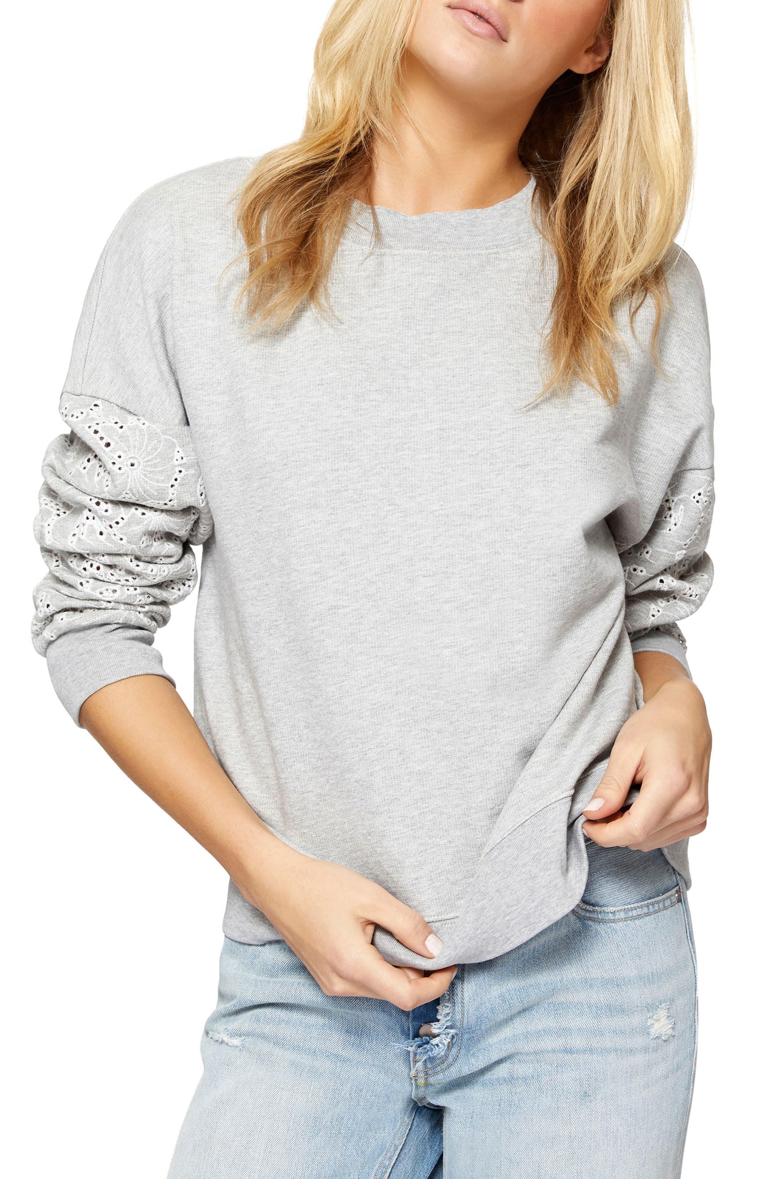 Sanctuary Flora Cotton Sweatshirt