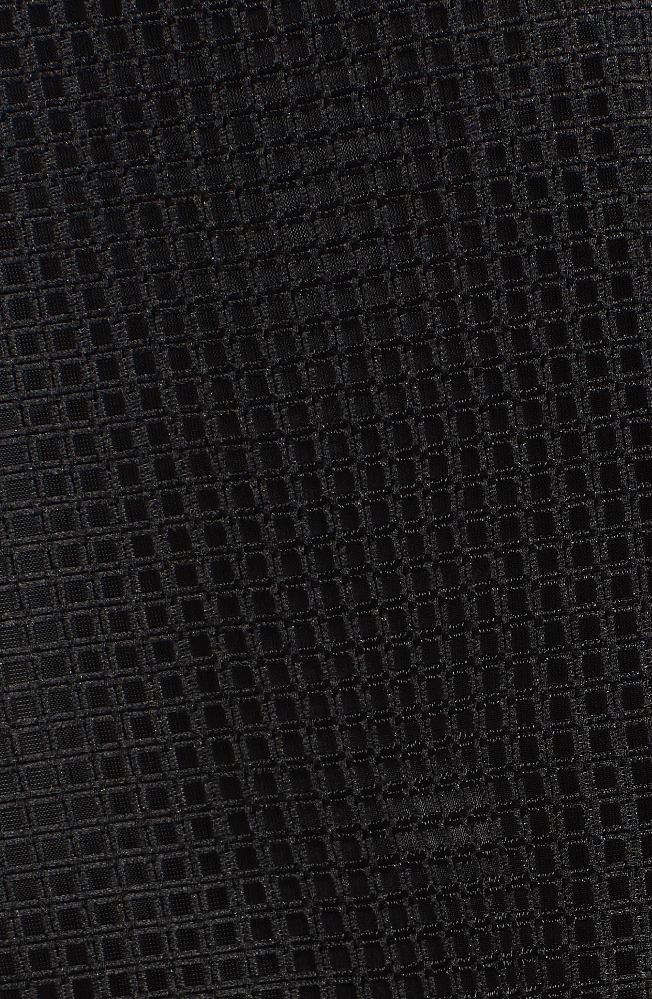 Mesh Jacket,                             Alternate thumbnail 5, color,                             Black/ White