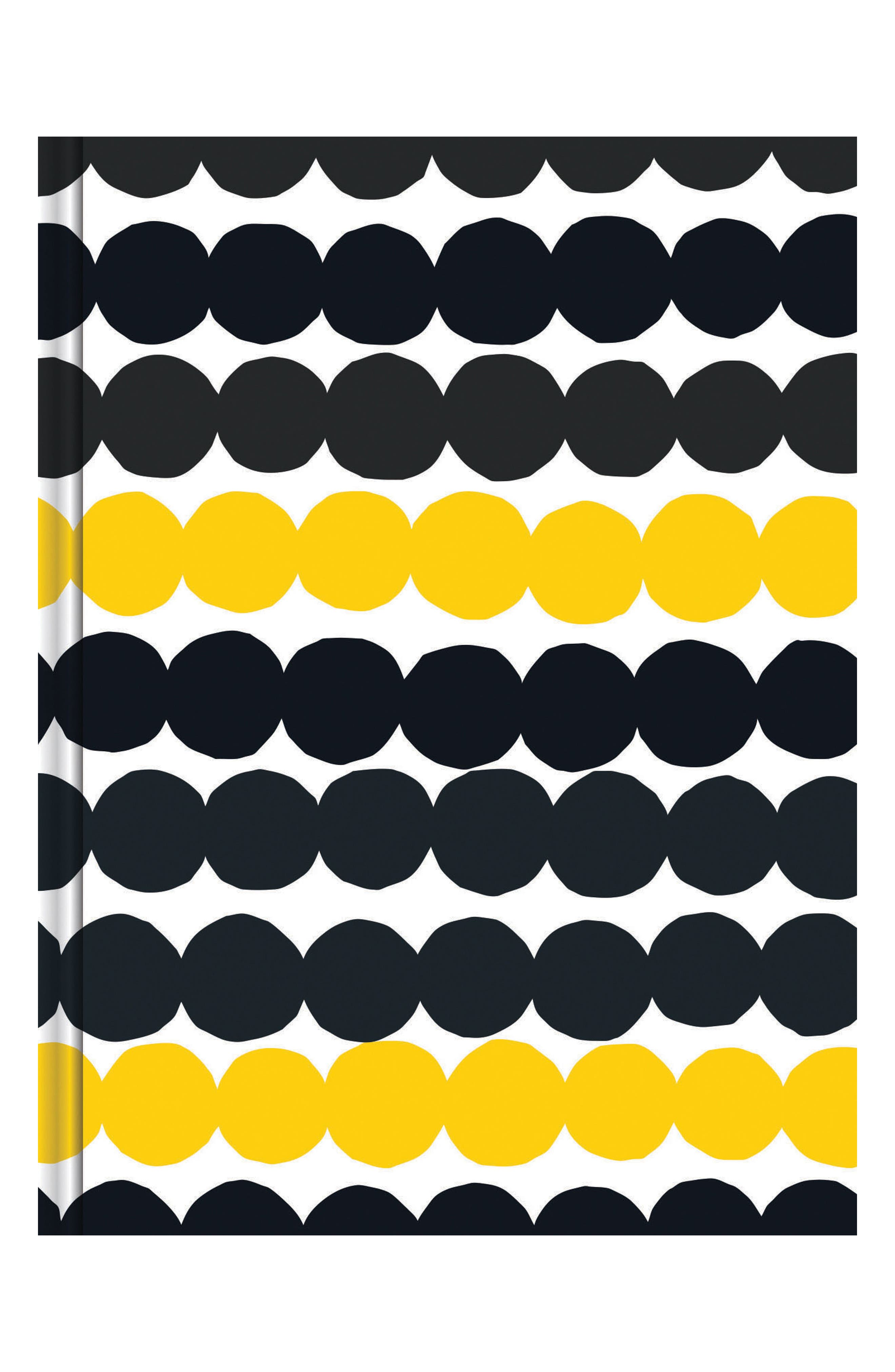 Marimekko Fabric Wrapped Journal,                             Main thumbnail 1, color,                             Multi