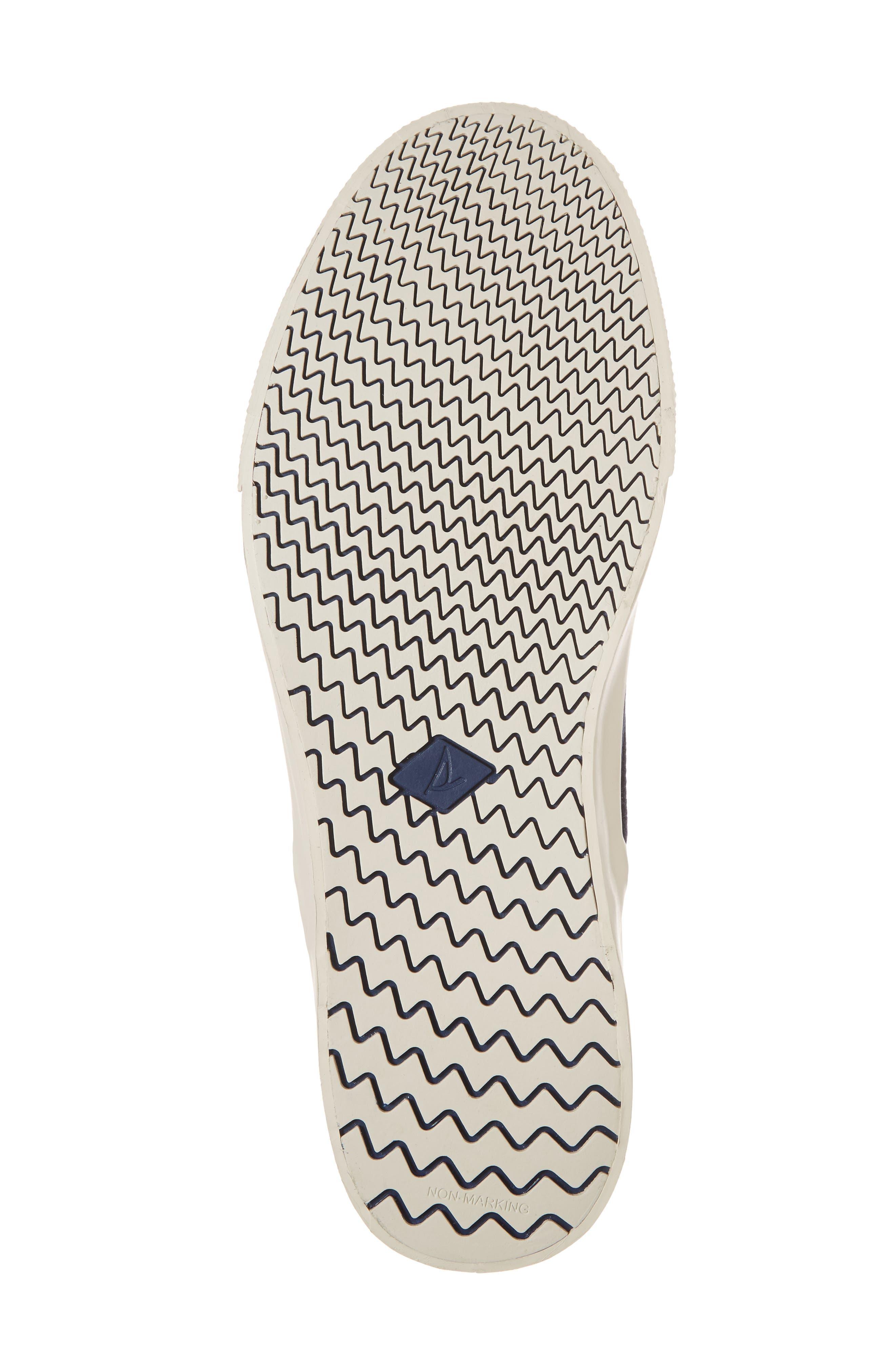 Striper II Slip-On Sneaker,                             Alternate thumbnail 6, color,                             Navy