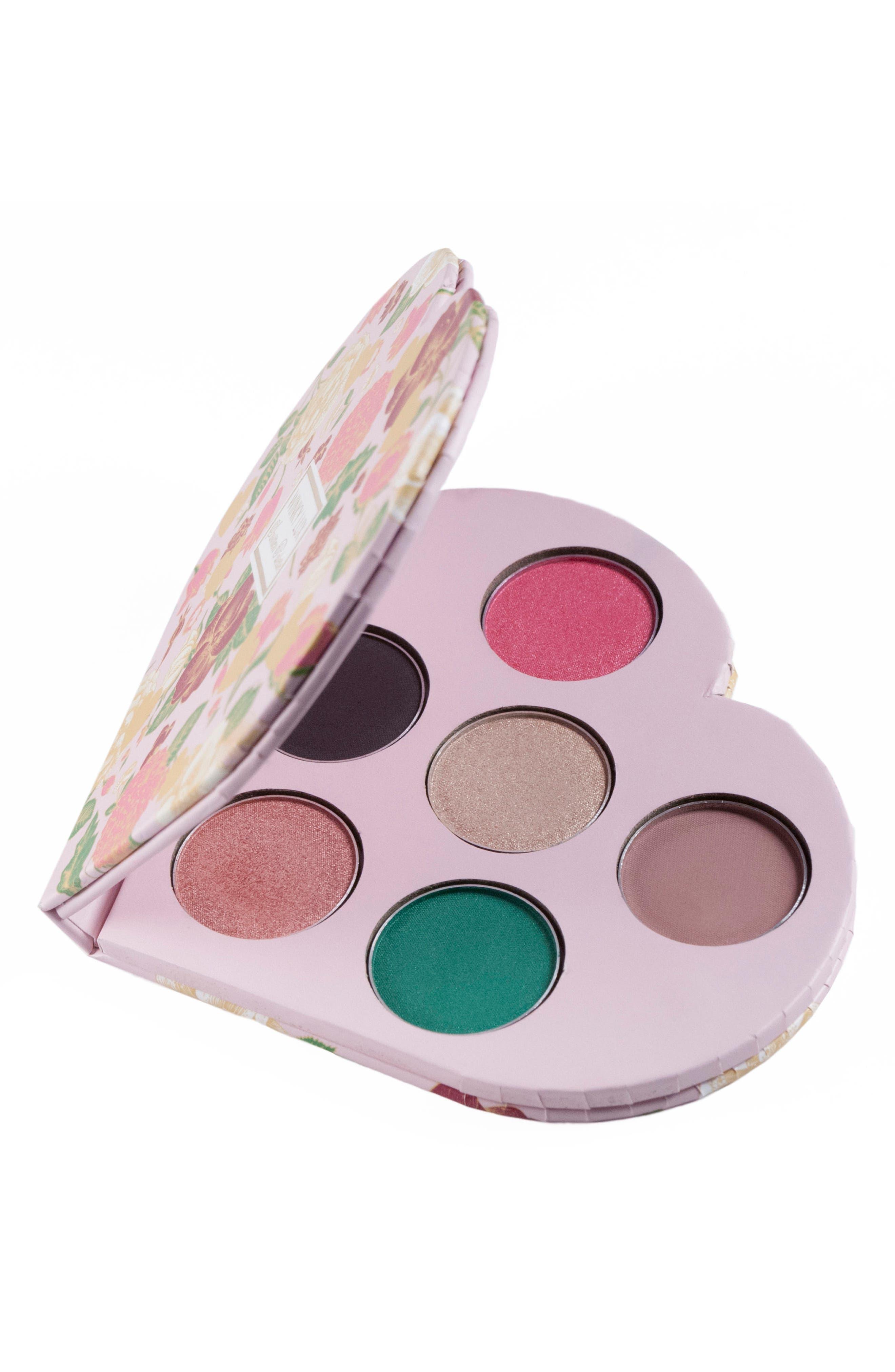 Smitten Heart Eyeshadow Palette,                         Main,                         color, No Color