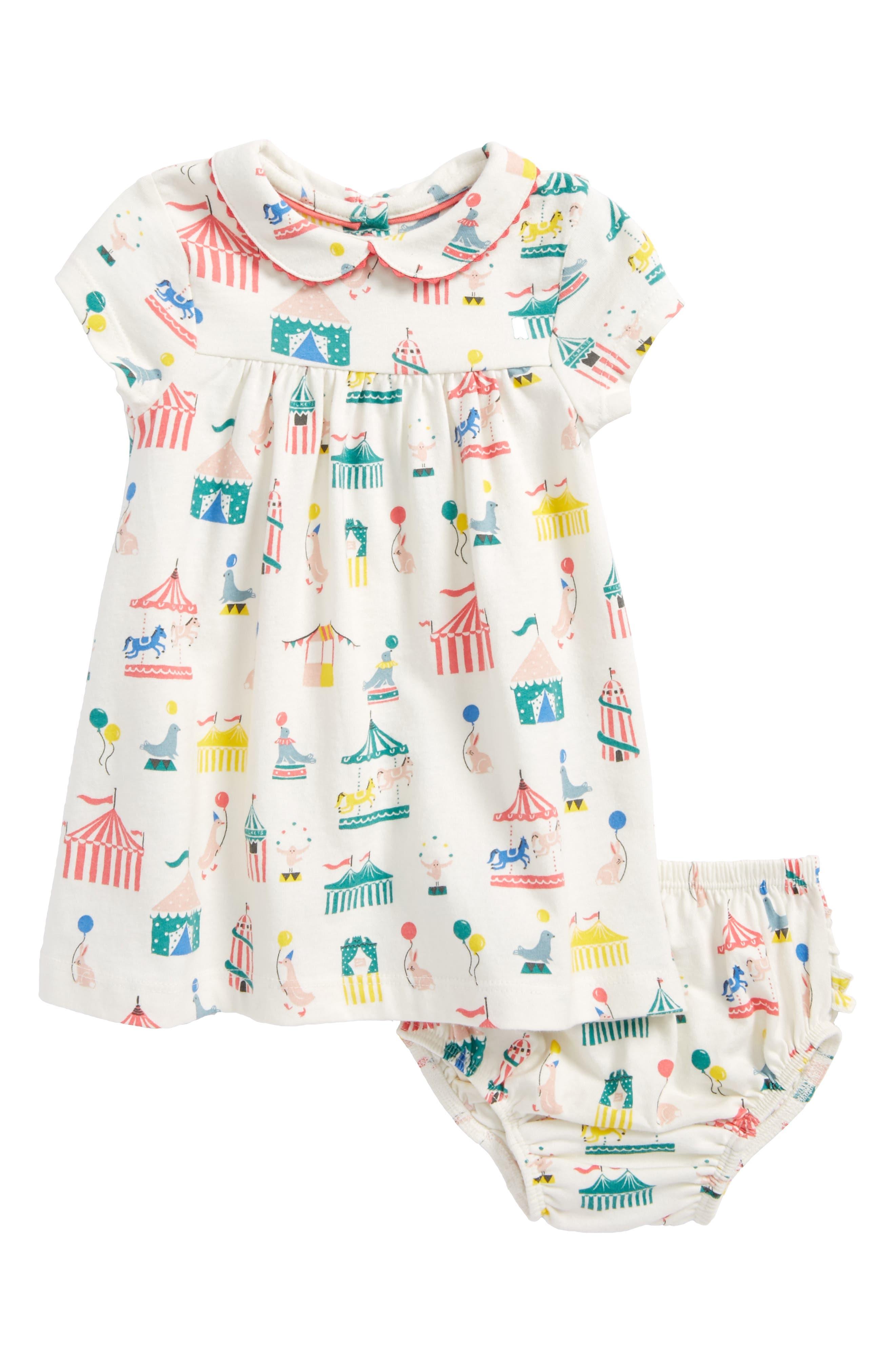 Print Jersey Dress,                             Main thumbnail 1, color,                             Circus