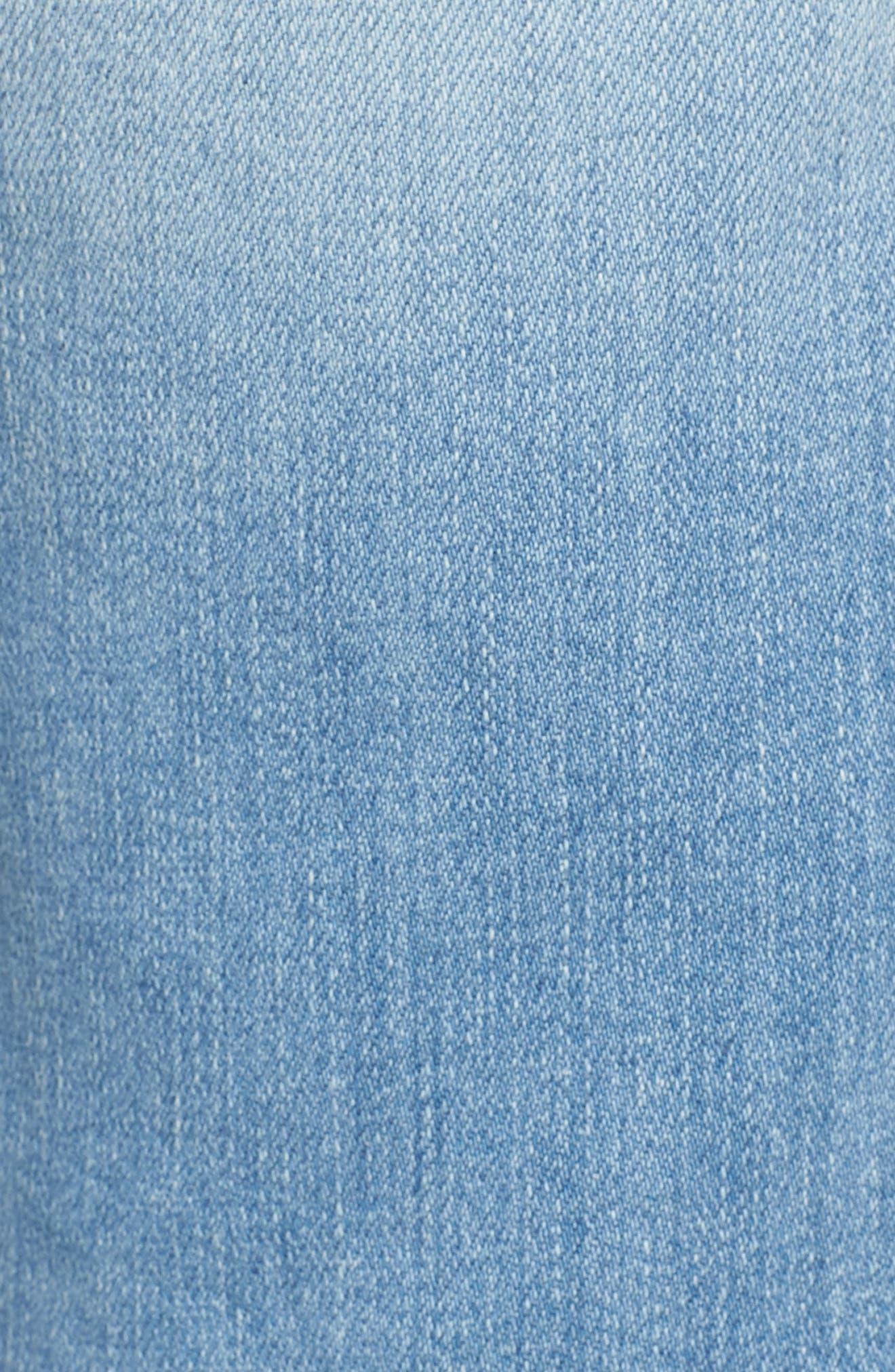 L'Homme Straight Leg Jeans,                             Alternate thumbnail 5, color,                             Finn