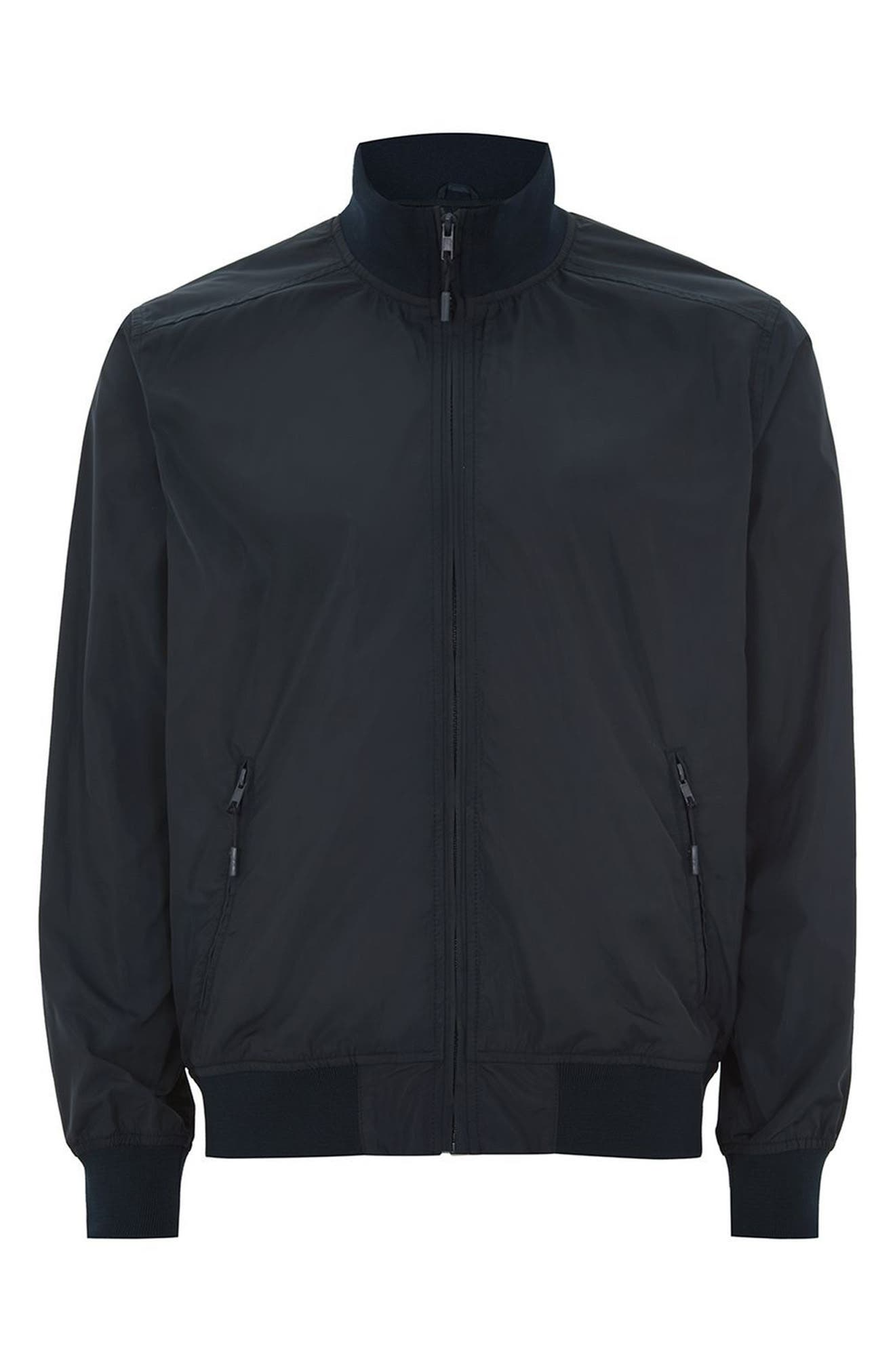 Classic Fit Track Jacket,                             Alternate thumbnail 6, color,                             Dark Blue