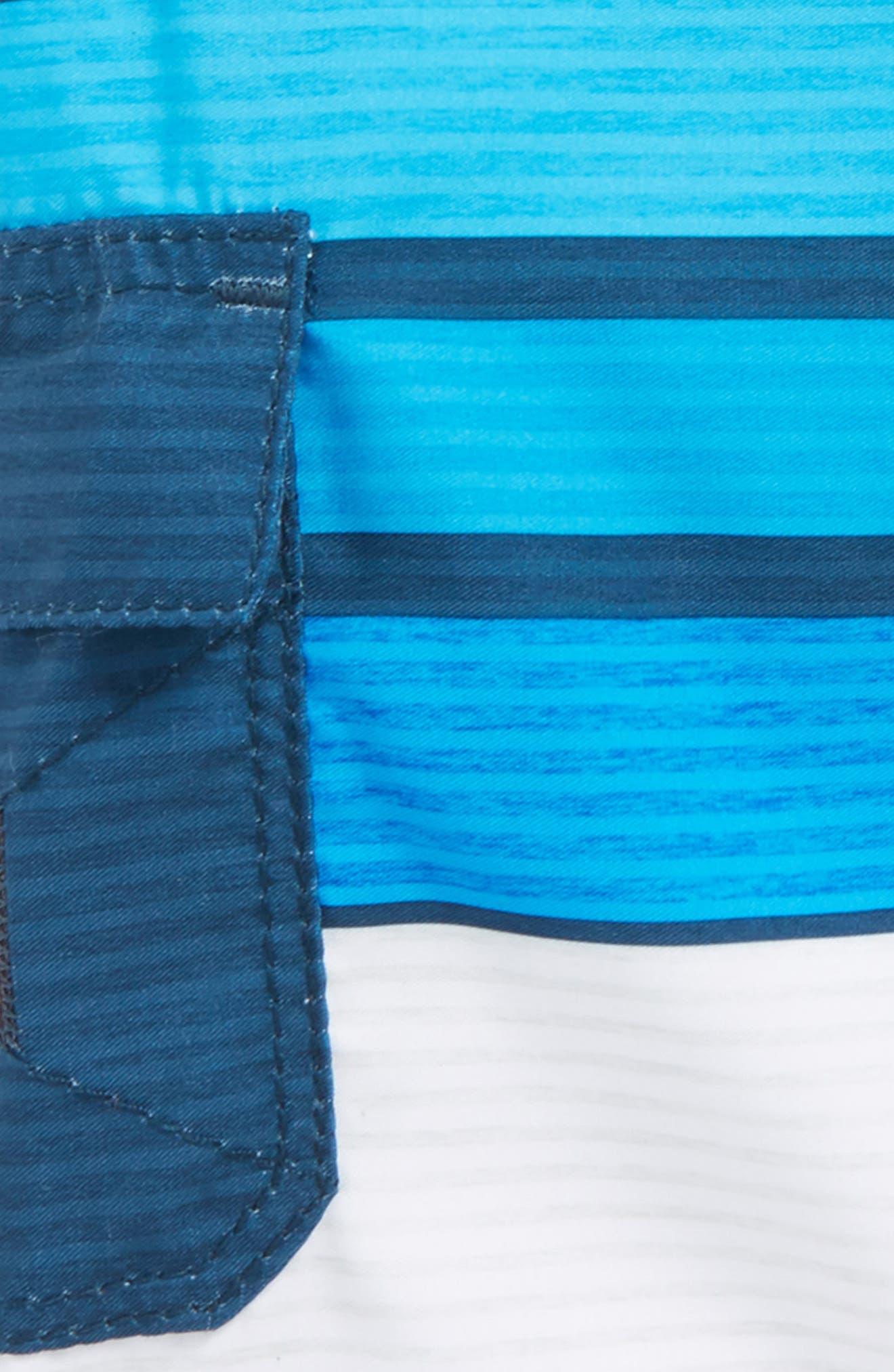 All Day OG Stripe Board Shorts,                             Alternate thumbnail 2, color,                             Blue