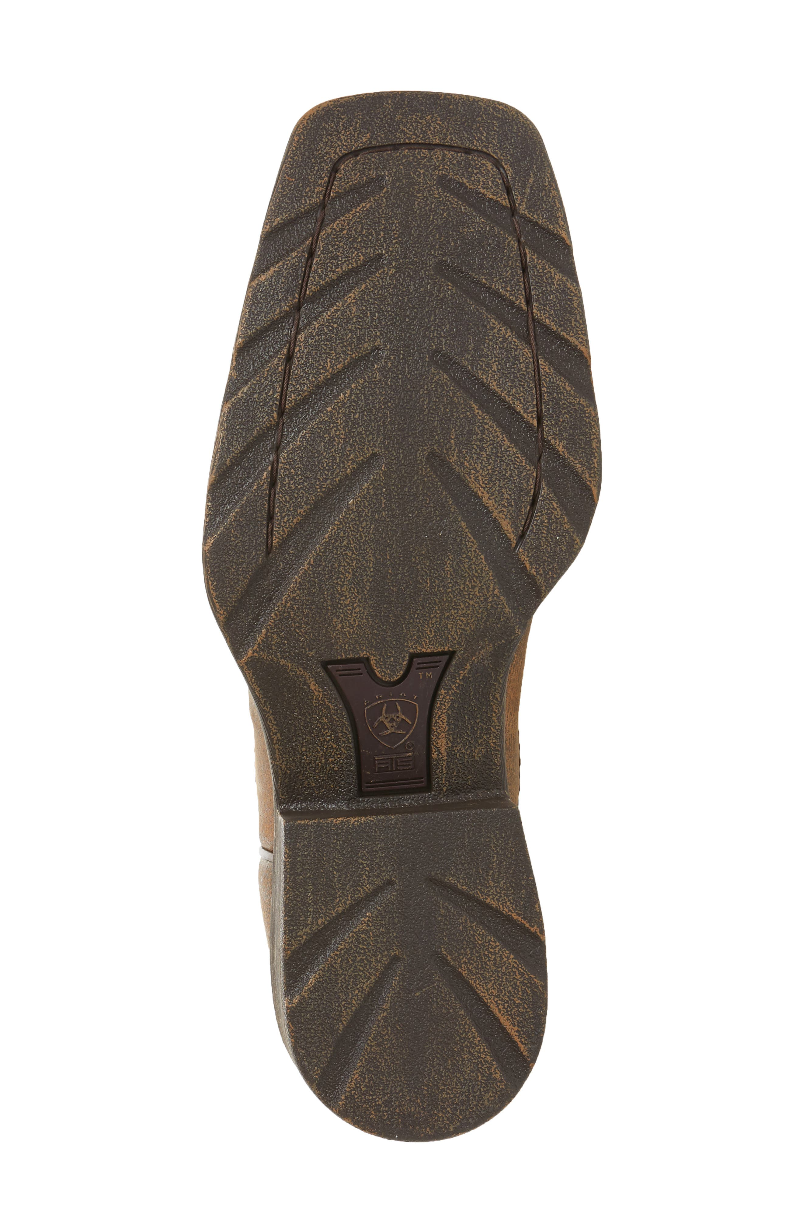 Western Rambler Cowboy Boot,                             Alternate thumbnail 6, color,                             Vintage Bomber Leather