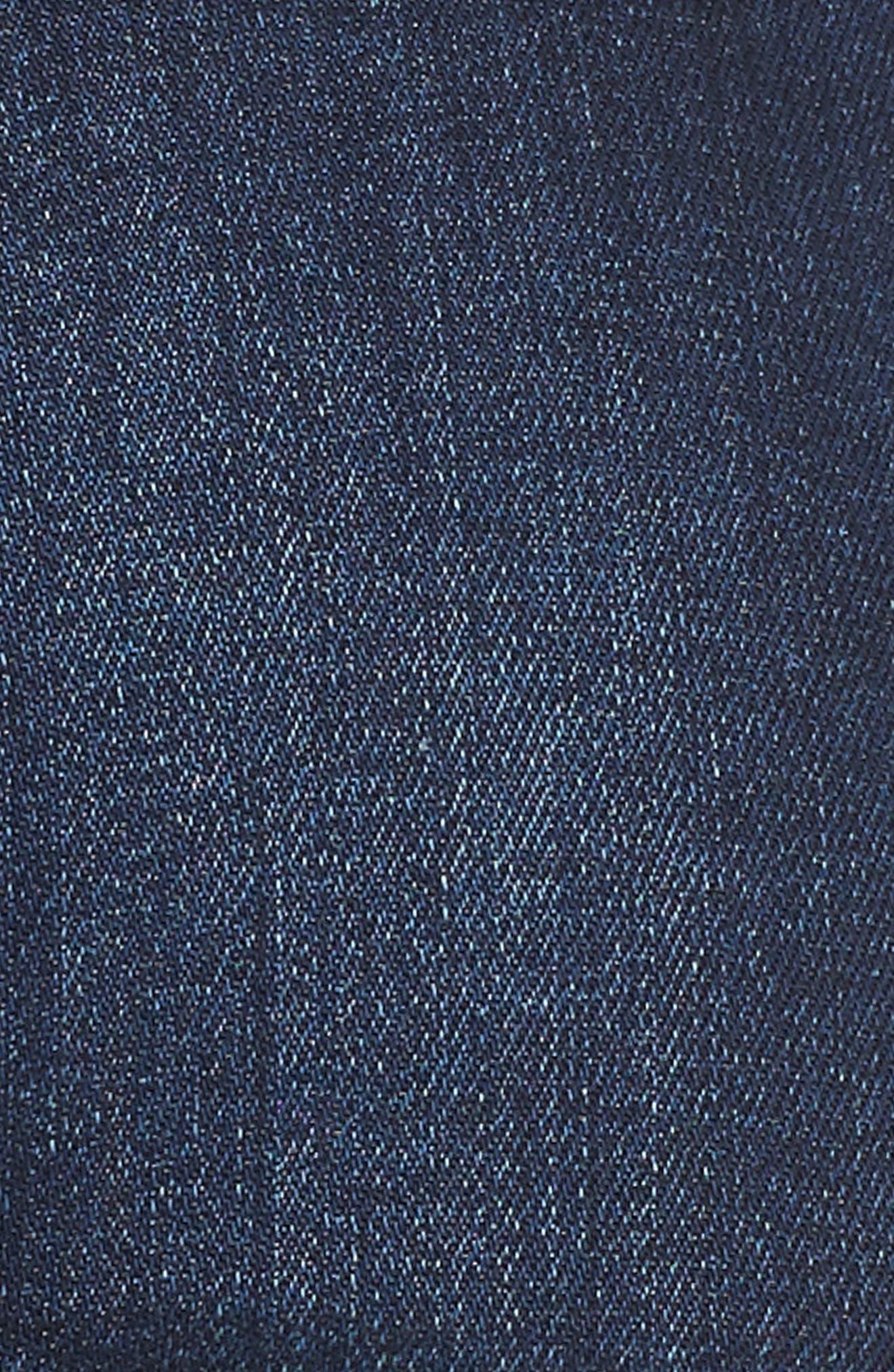 Alissa Skinny Jeans,                             Alternate thumbnail 6, color,                             Dark Supersoft