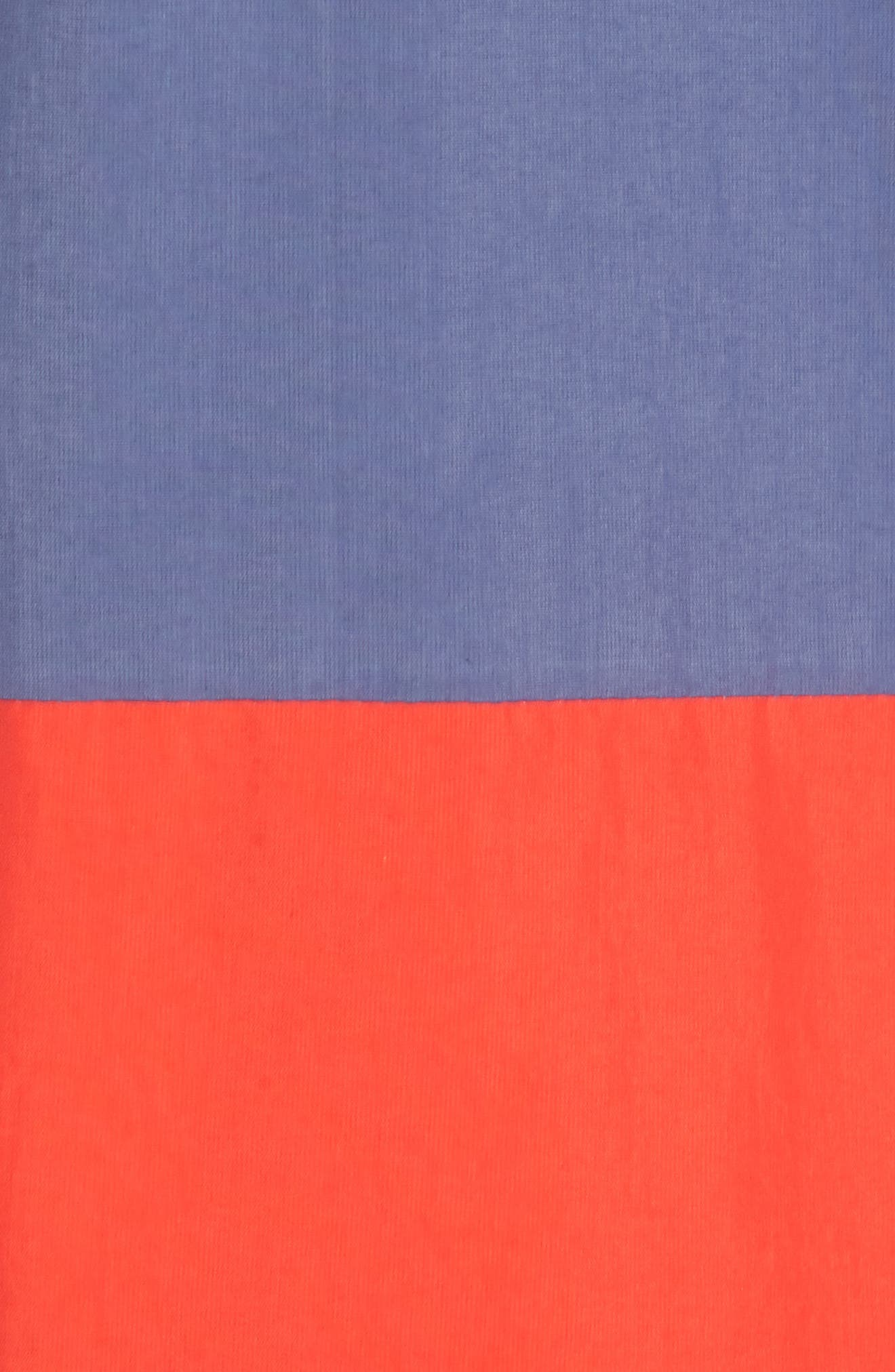 Alosa Colorblock Jacket,                             Alternate thumbnail 5, color,                             White