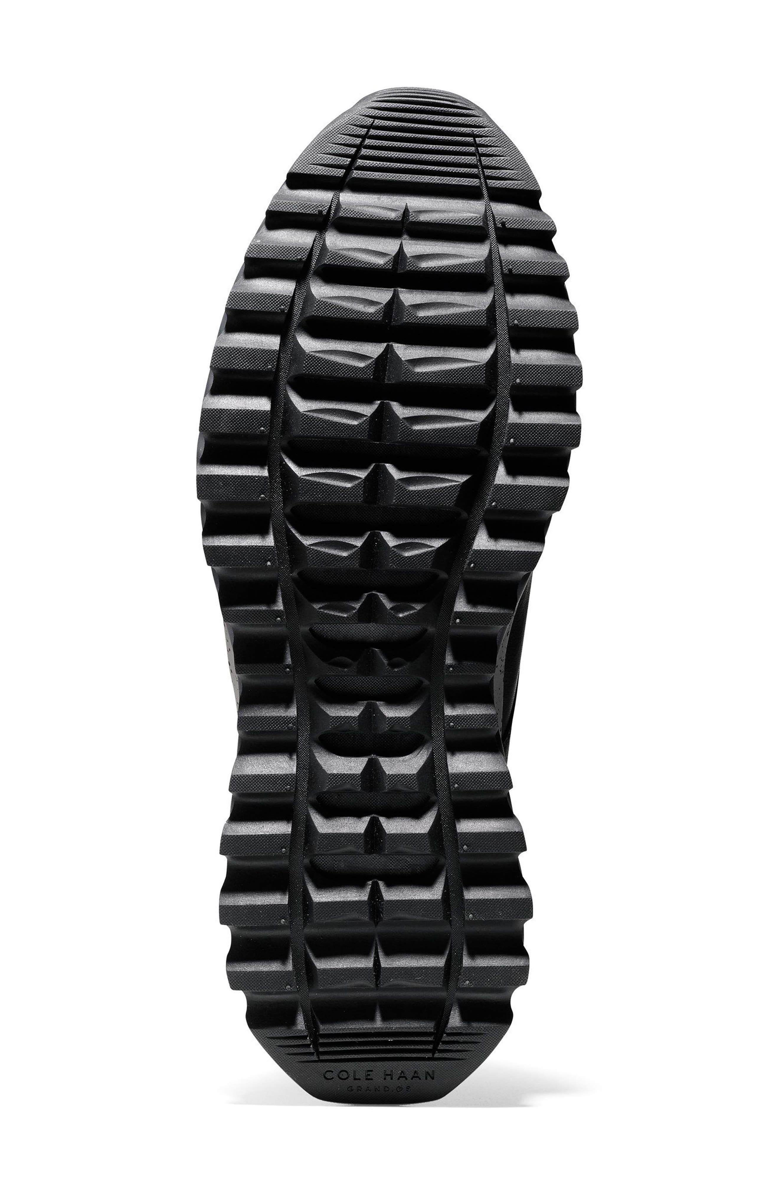 GrandExpløre All Terrain Waterproof Sneaker,                             Alternate thumbnail 6, color,                             Black/ Ironstone Leather