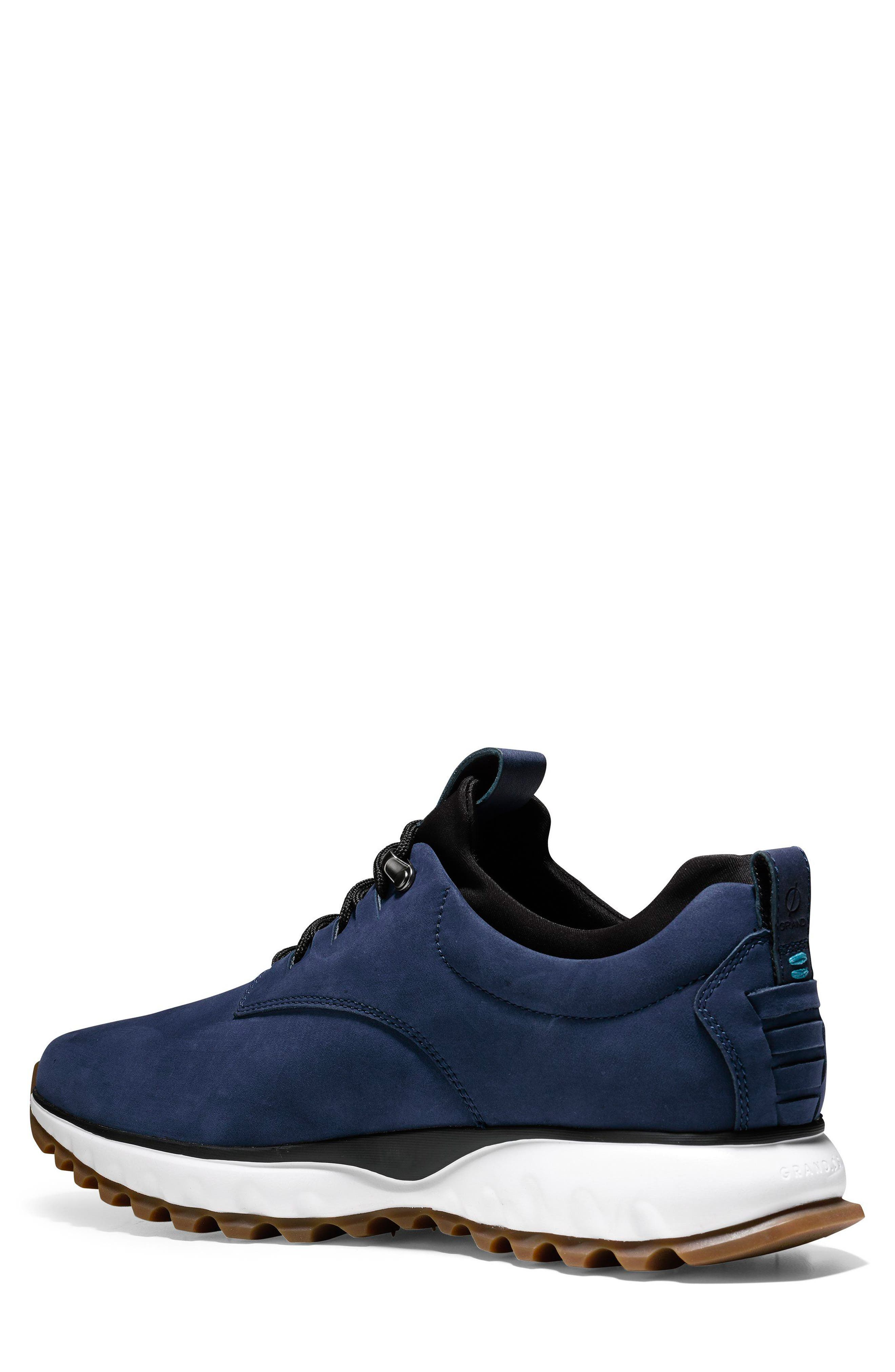 GrandExpløre All Terrain Waterproof Sneaker,                             Alternate thumbnail 2, color,                             Marine Blue Nubuck