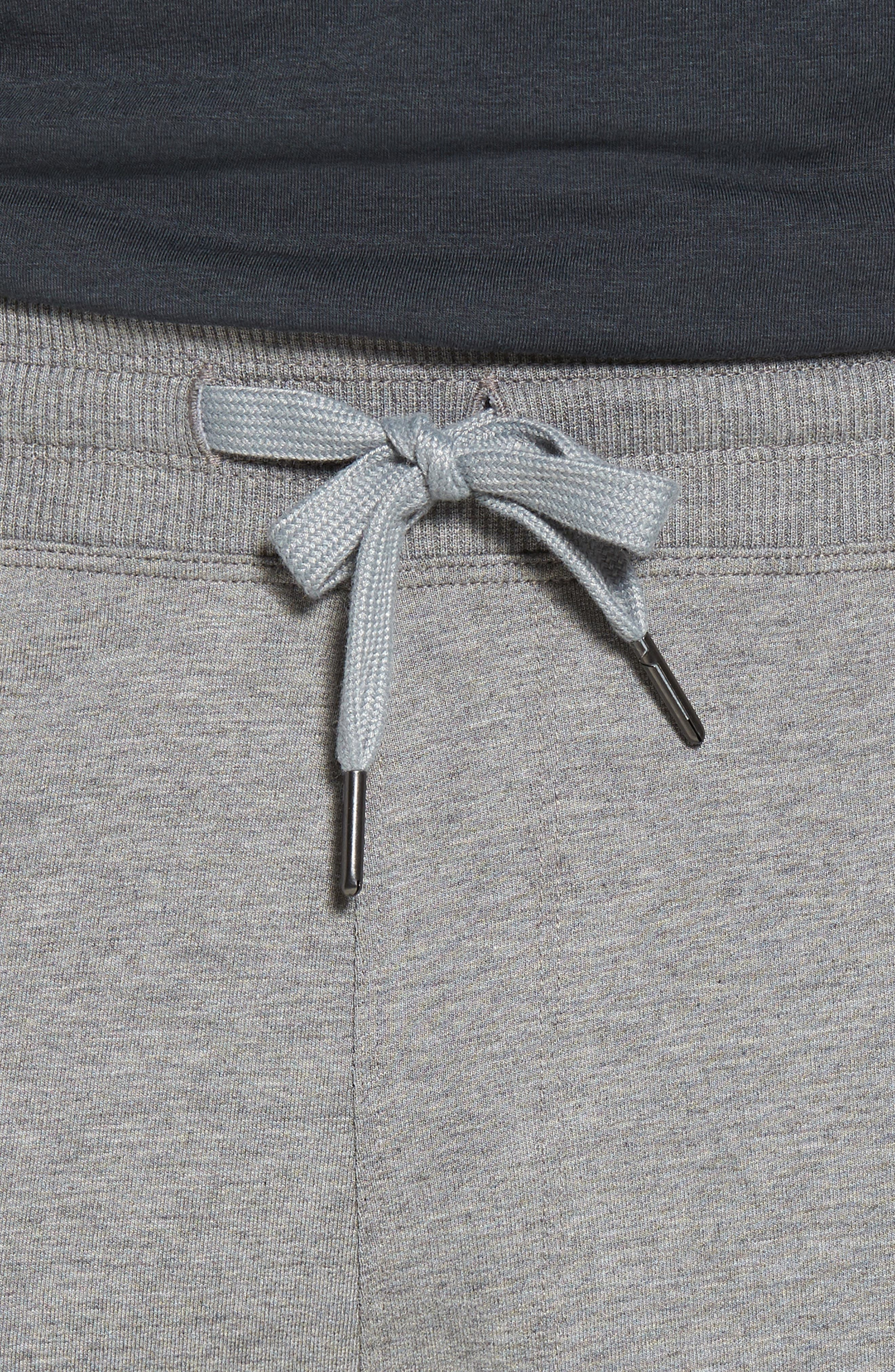 Legacy Lounge Pants,                             Alternate thumbnail 4, color,                             Heather Grey