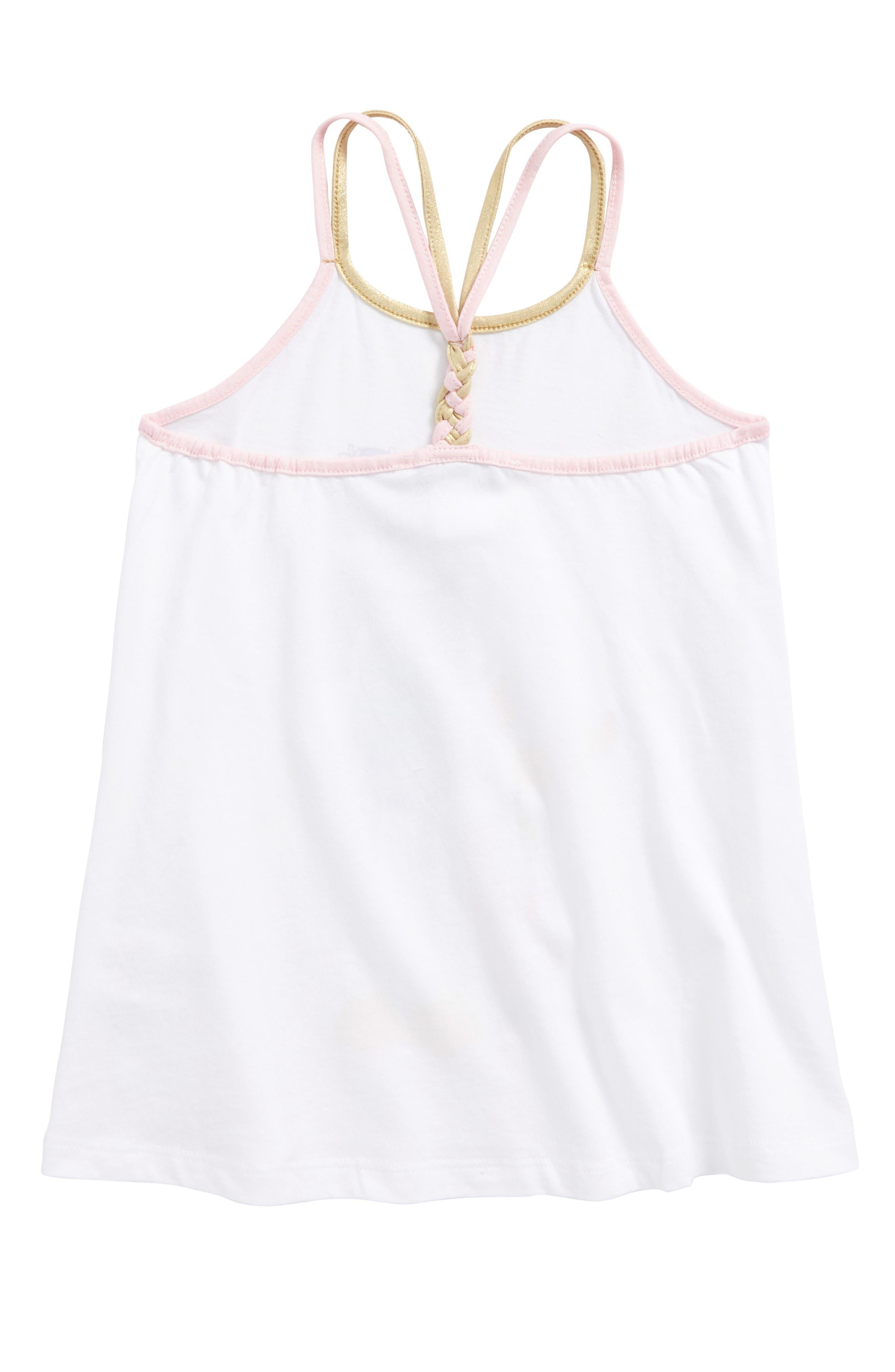 Miss Marc Beach Tank Dress,                             Alternate thumbnail 2, color,                             Blanc