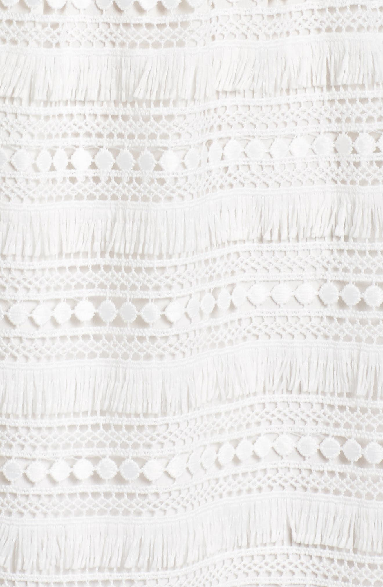 Maybe Mozza Midi Sundress,                             Alternate thumbnail 5, color,                             White