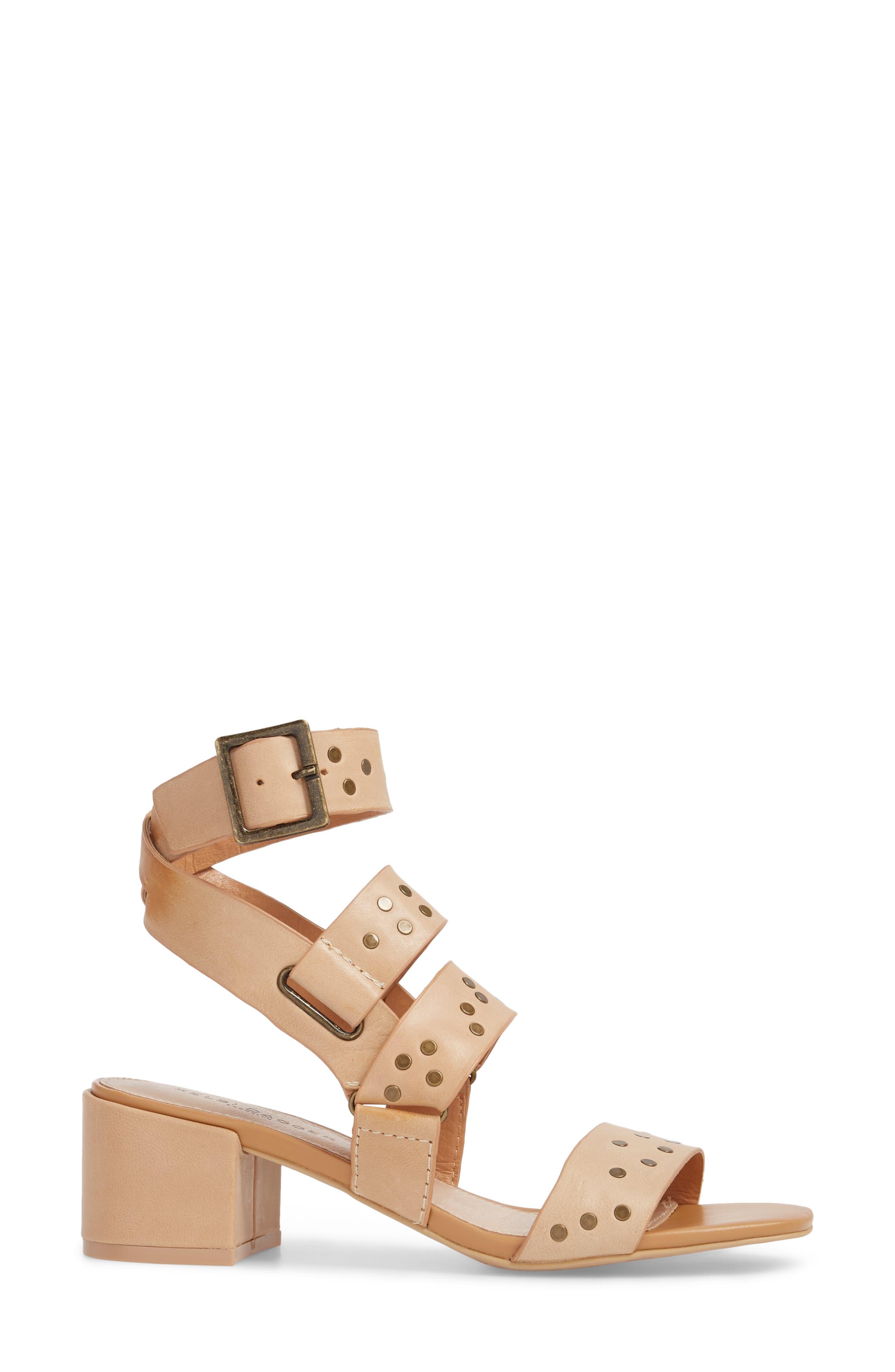 Seabring City Sandal,                             Alternate thumbnail 3, color,                             Tan Leather