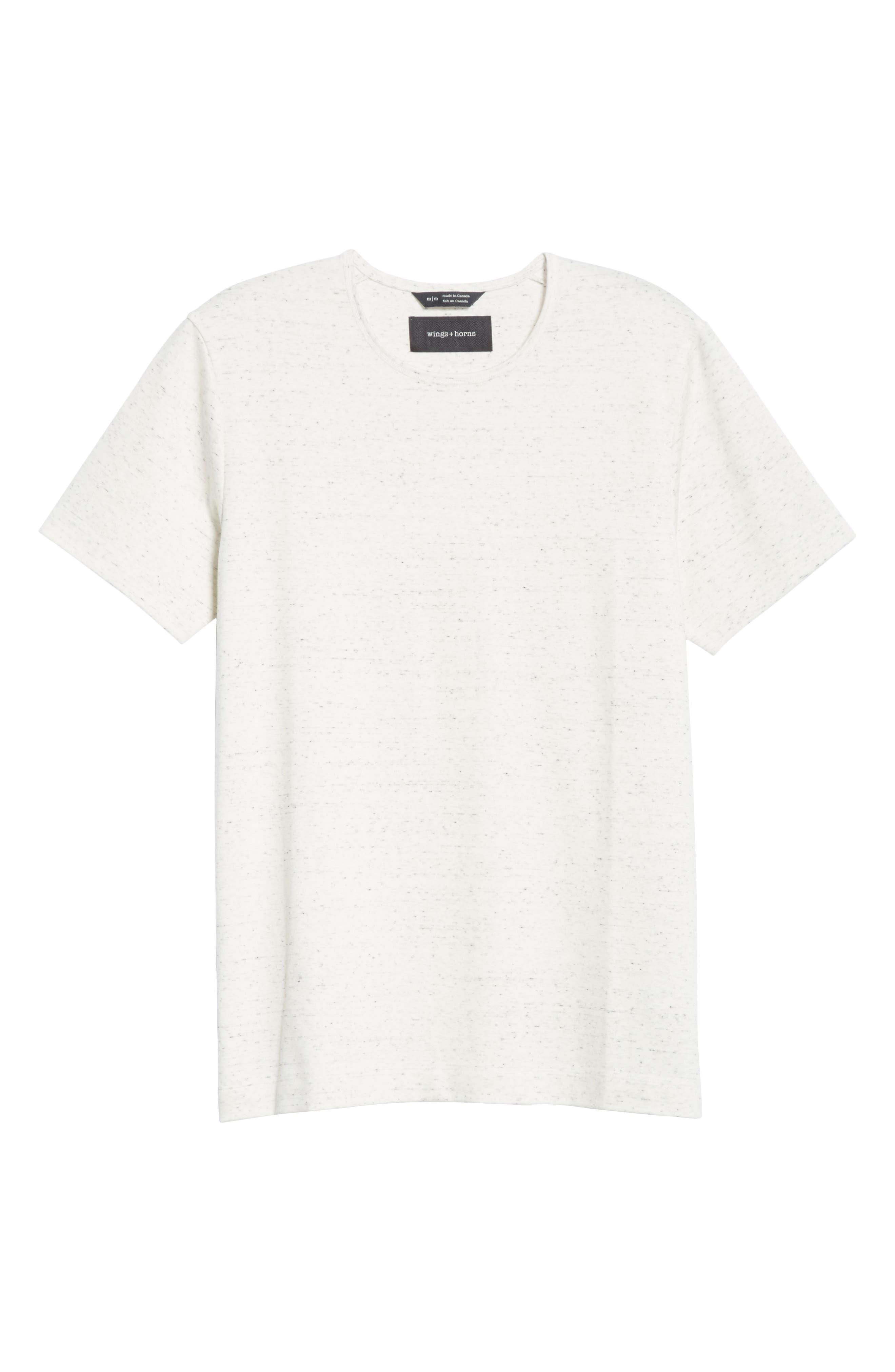 Signals T-Shirt,                             Alternate thumbnail 6, color,                             Static White