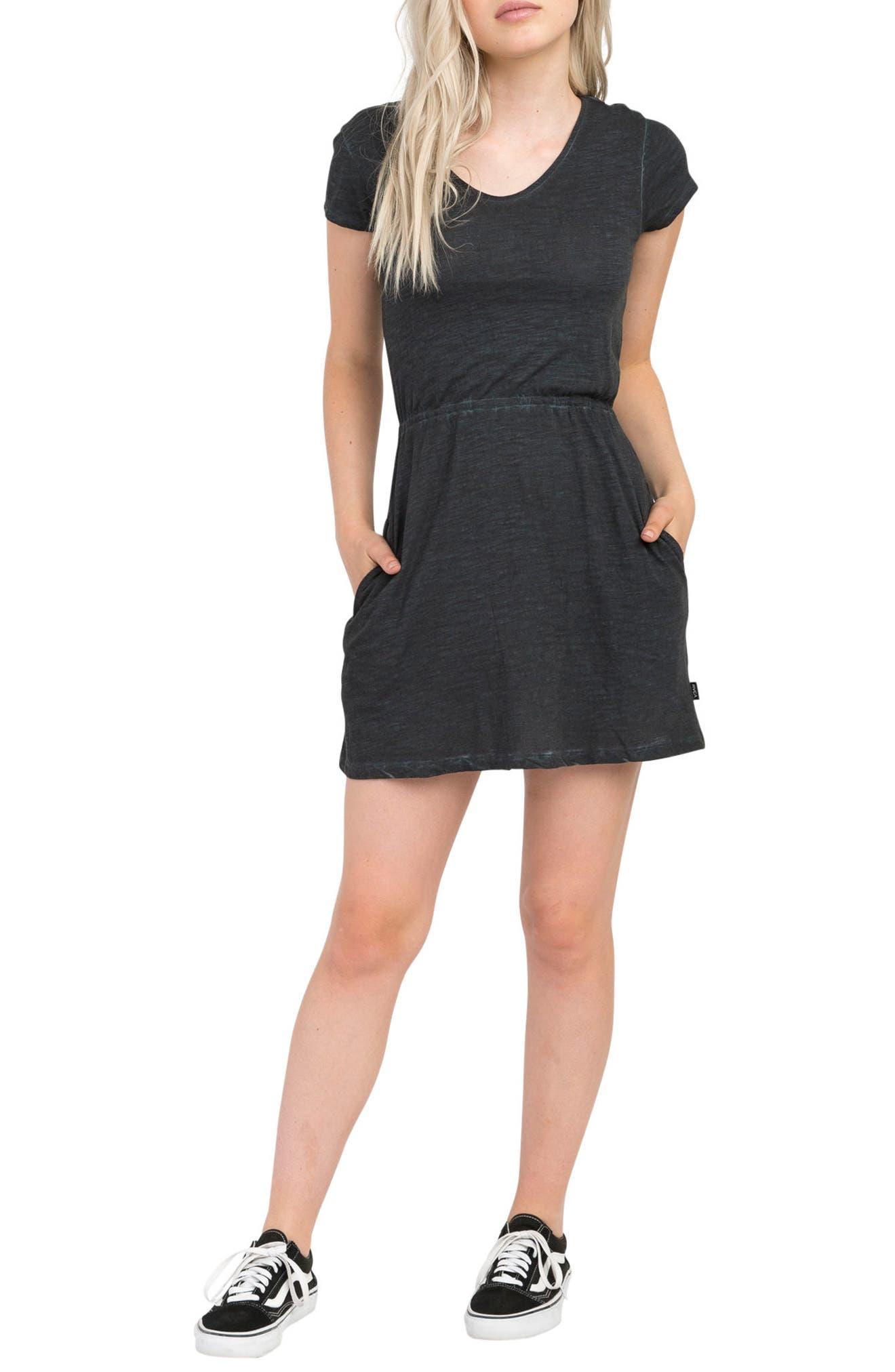 RVCA Shifter Twist Back Dress