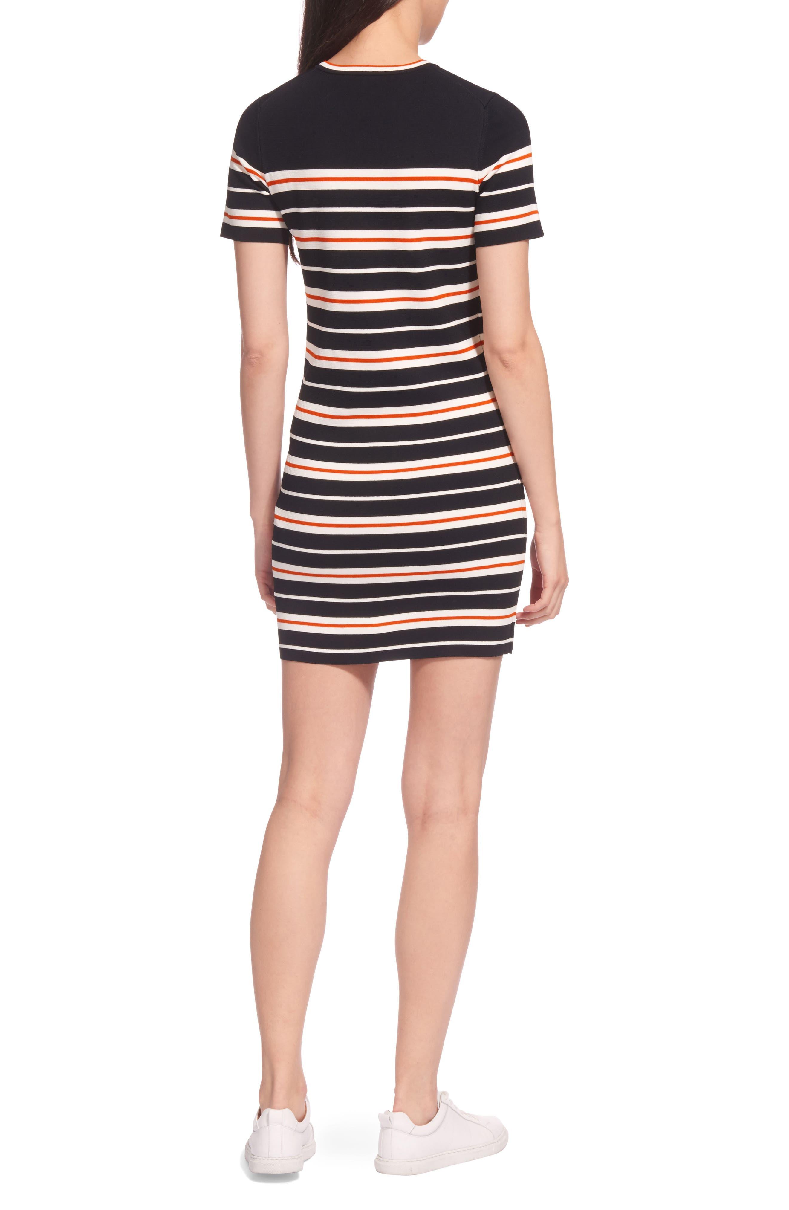 Milano Stripe Knit Dress,                             Alternate thumbnail 2, color,                             Multicolor