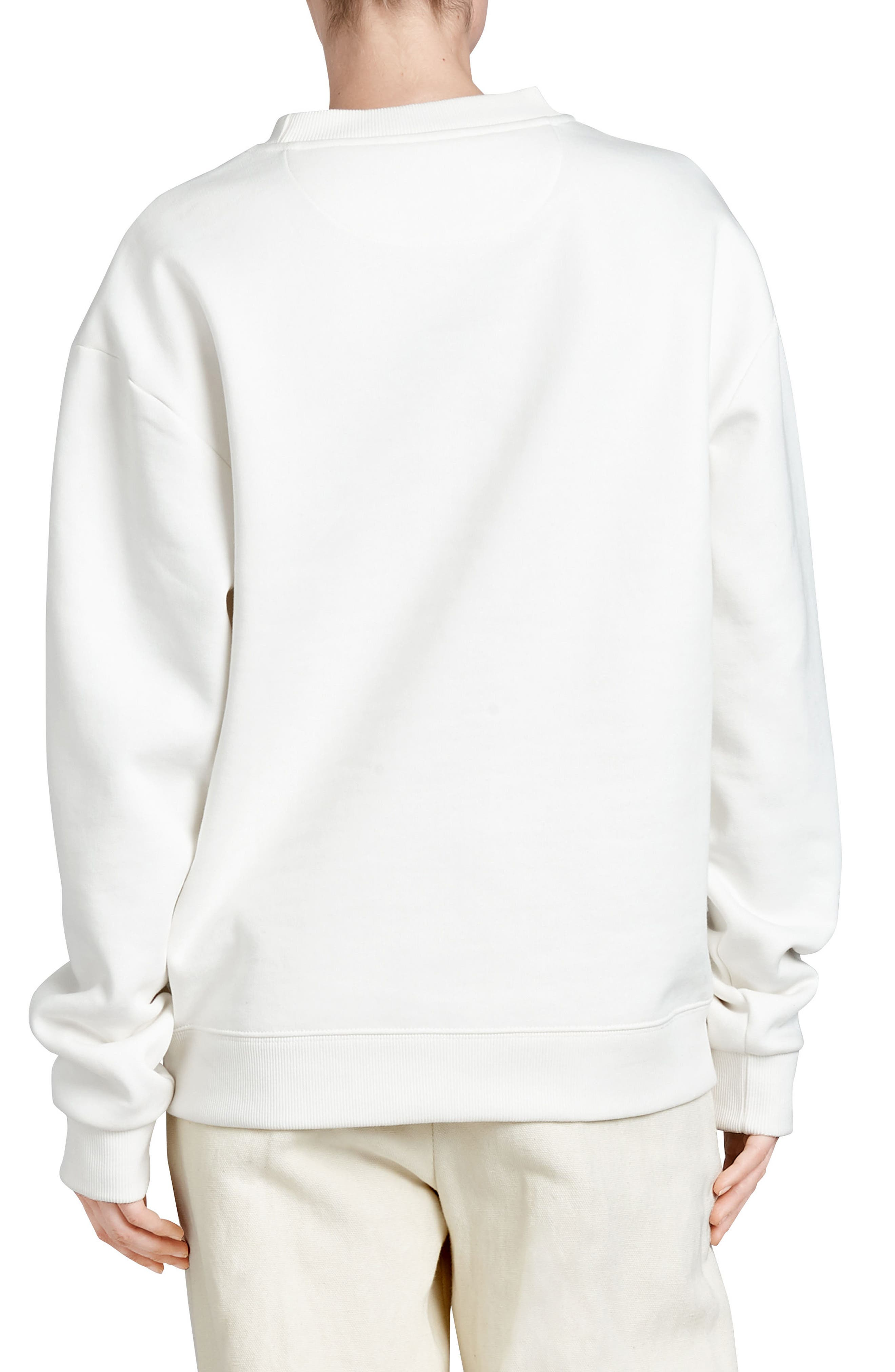 Alternate Image 2  - Burberry Vintage Crest Sweatshirt