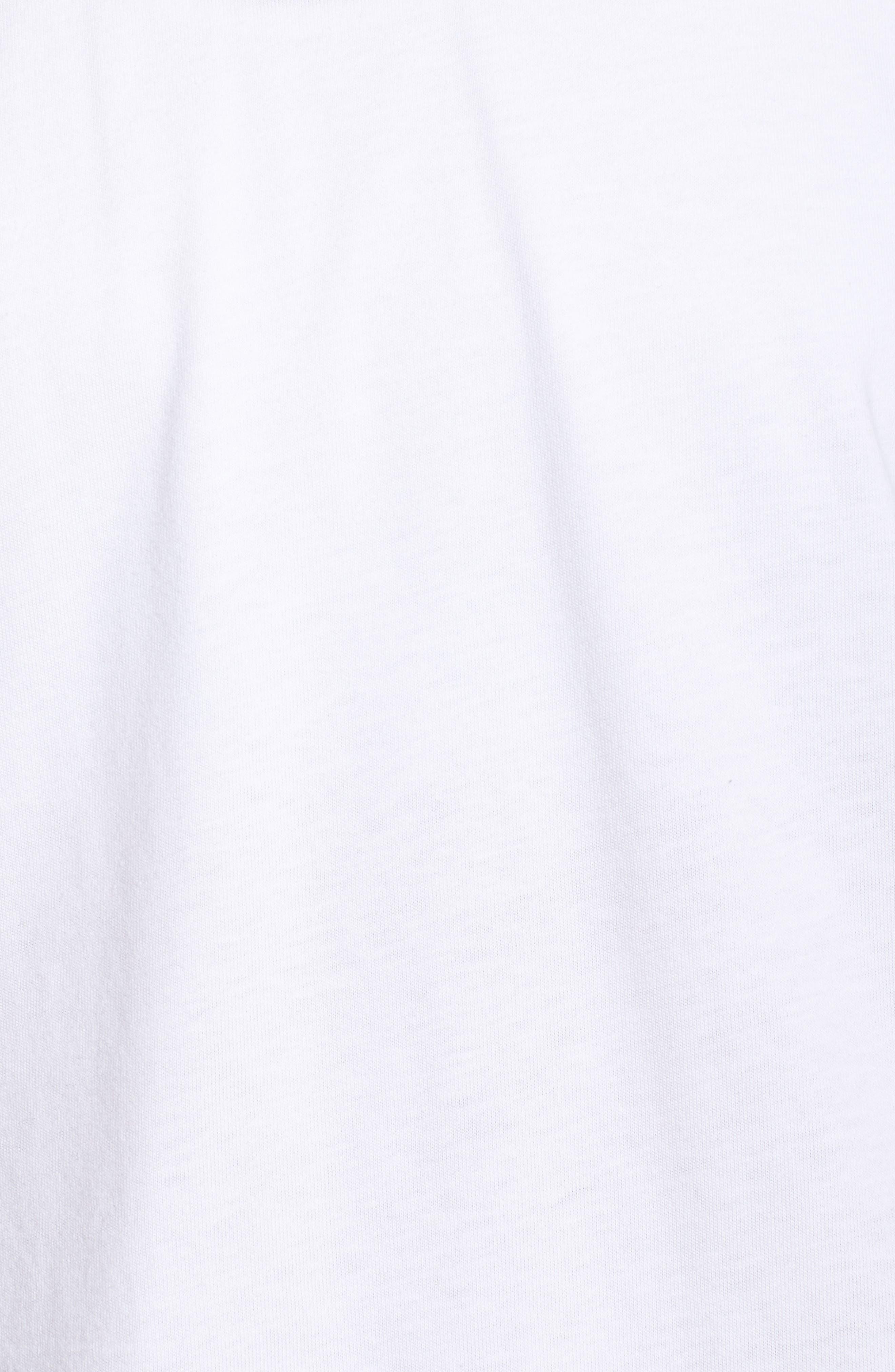 Training Cotton Mesh Tee,                             Alternate thumbnail 6, color,                             White