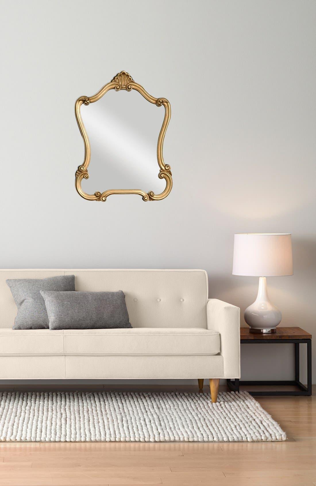 Alternate Image 2  - Uttermost 'Walton Hall' Antiqued Goldtone Vanity Mirror