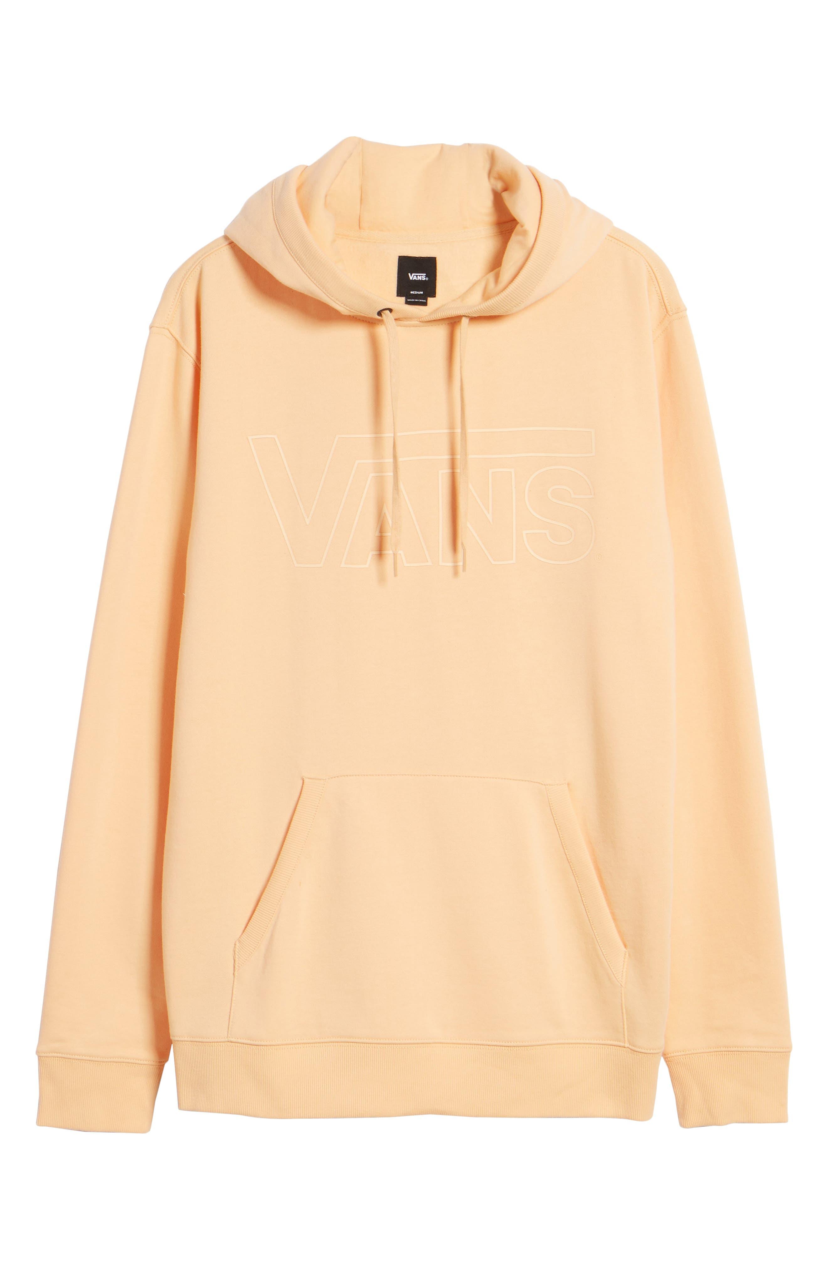 Classic Hoodie Sweatshirt,                             Alternate thumbnail 6, color,                             Apricot Ice