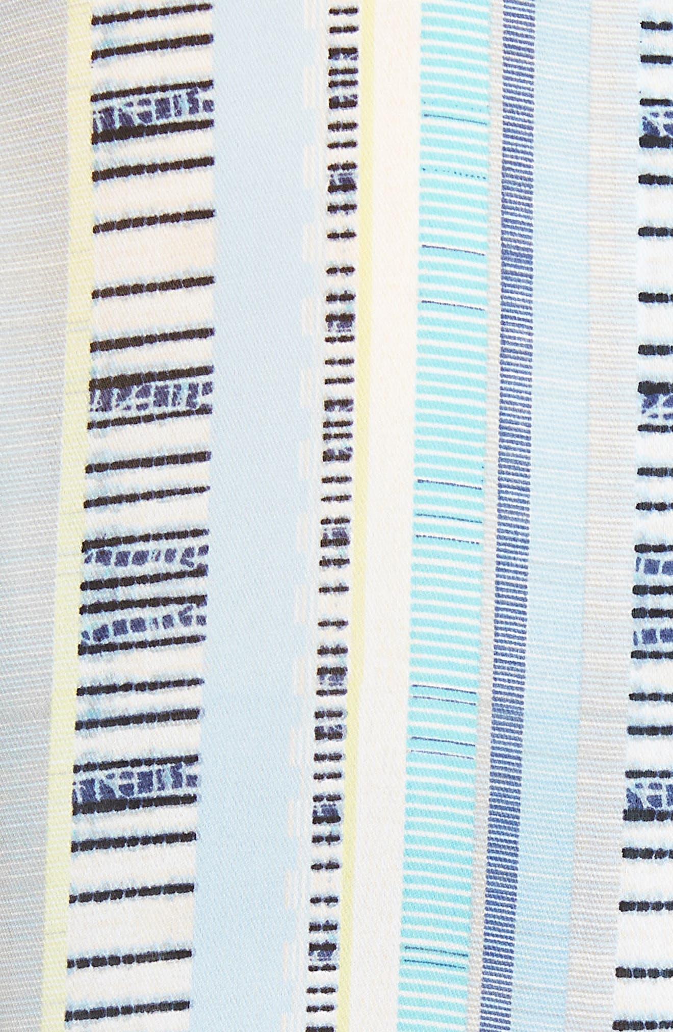 Beach Stripe Top,                             Alternate thumbnail 5, color,                             Multi