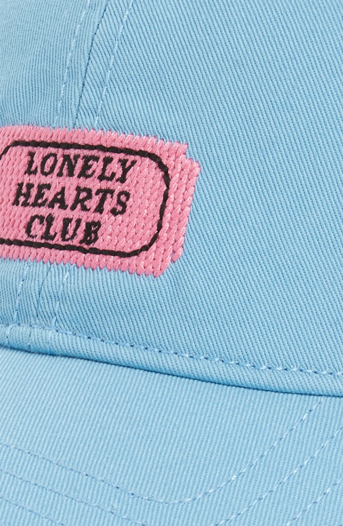 Lonely Heart Cap,                             Alternate thumbnail 3, color,                             Blue