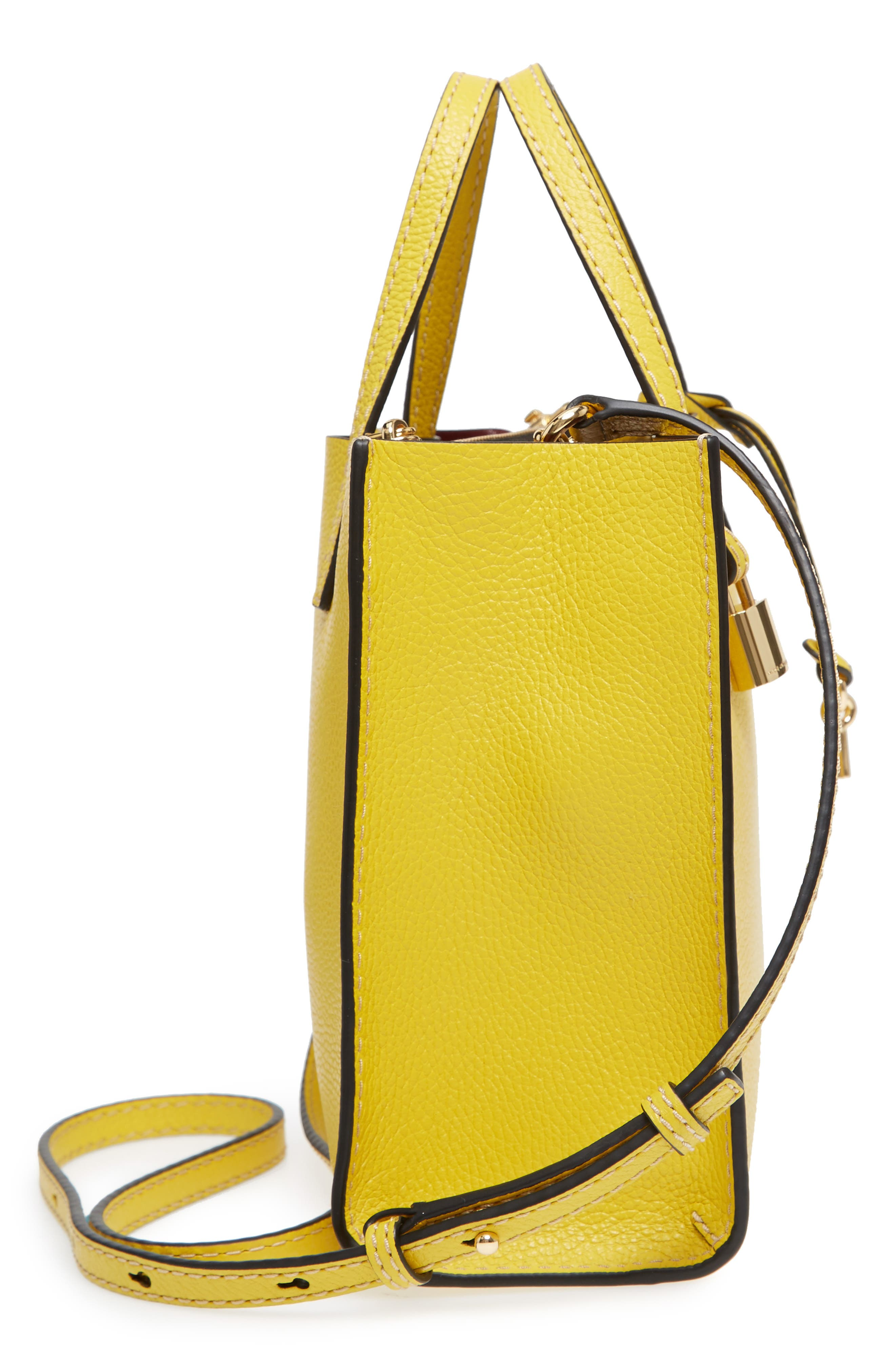 Alternate Image 5  - MARC JACOBS The Grind Mini Colorblock Leather Tote