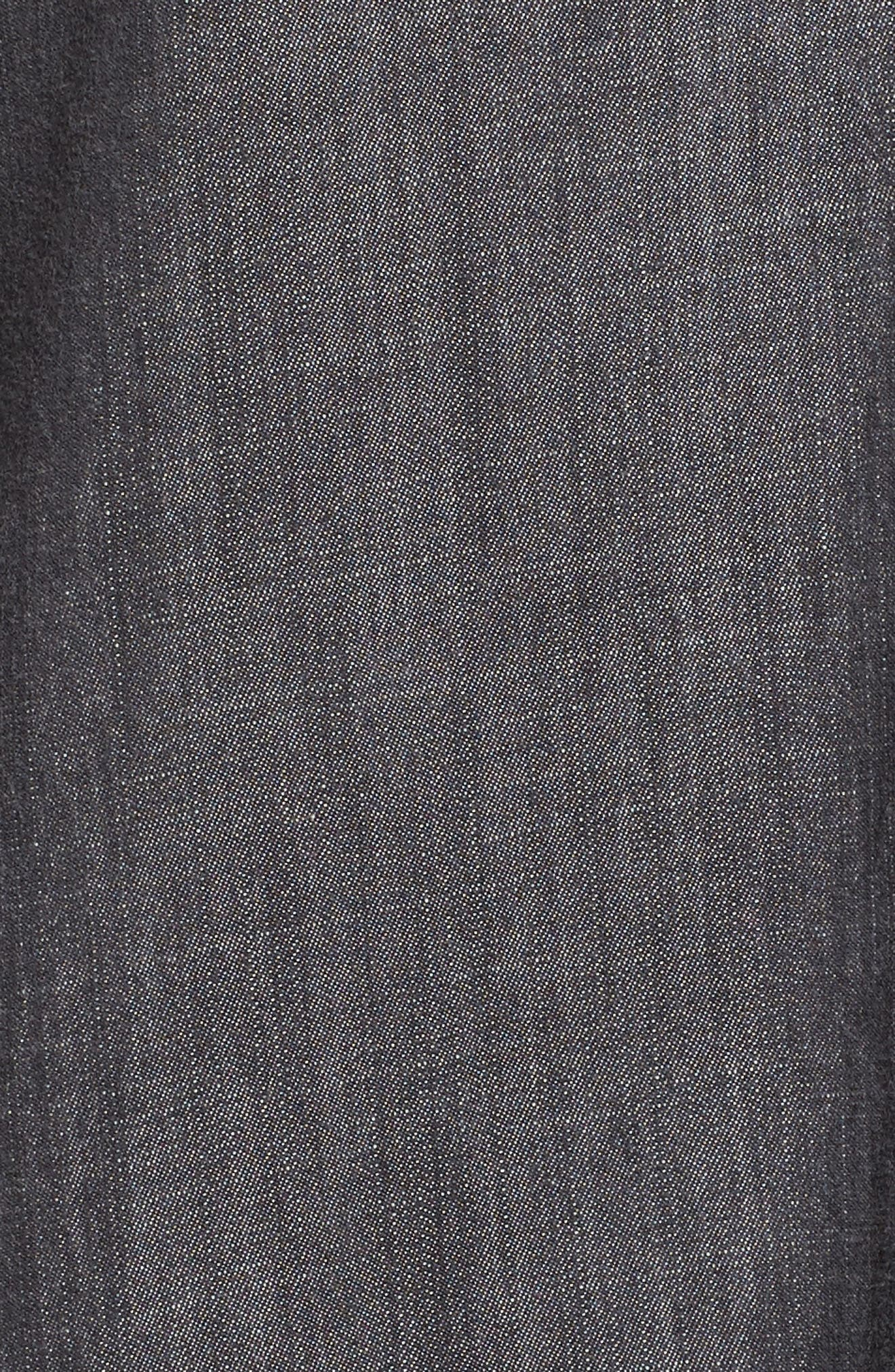 Classic Collar Shirt,                             Alternate thumbnail 5, color,                             Black