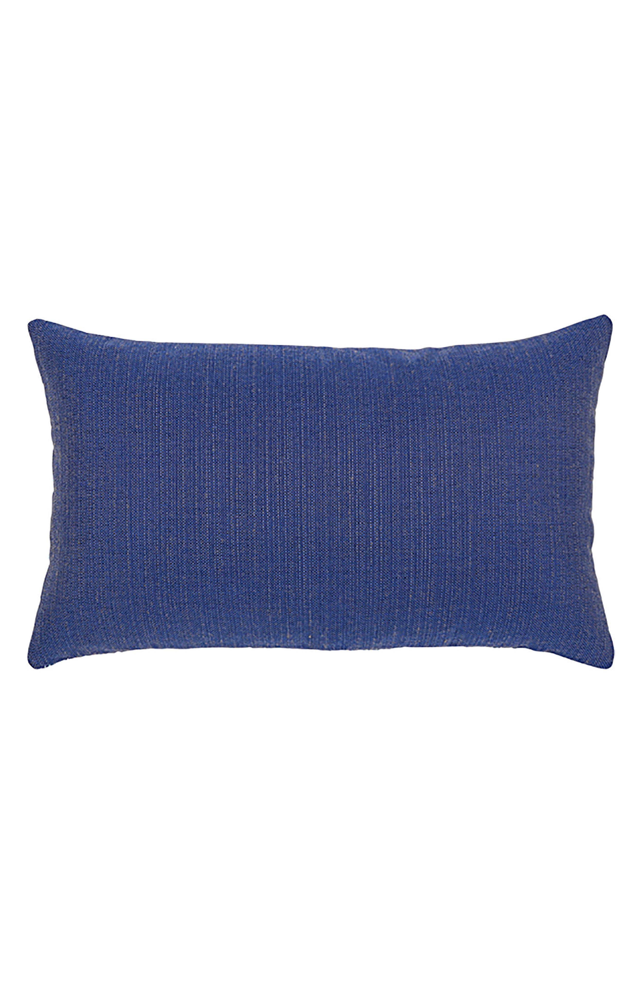 Midnight Tile Lumbar Pillow,                             Alternate thumbnail 3, color,                             Blue